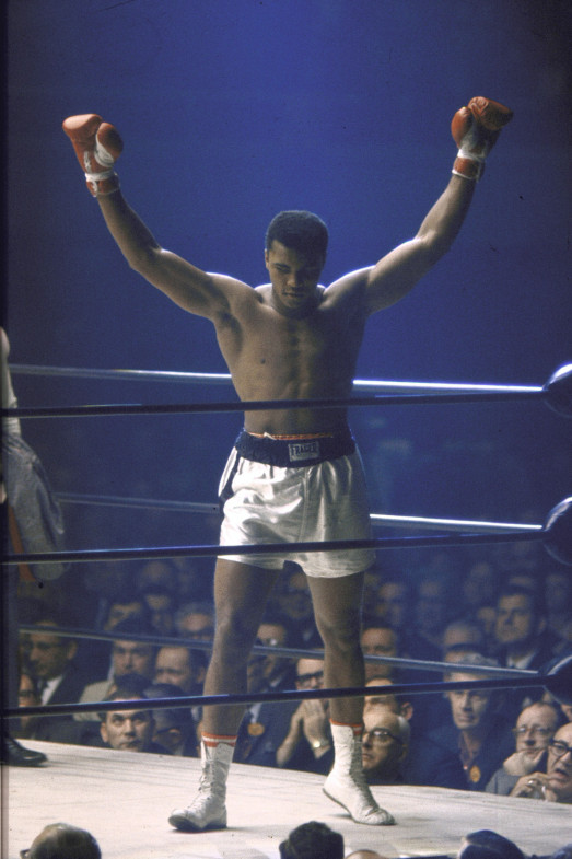 Ali in Las Vegas, 1965Chuck D:  Muhammad Ali taught us to transcend our mere social categories and represent the highest level of human being. His ability to rewire widespread attention into mass thought still remains unmatched.                                Chuck D is a rap artist and founder of Public Enemy.