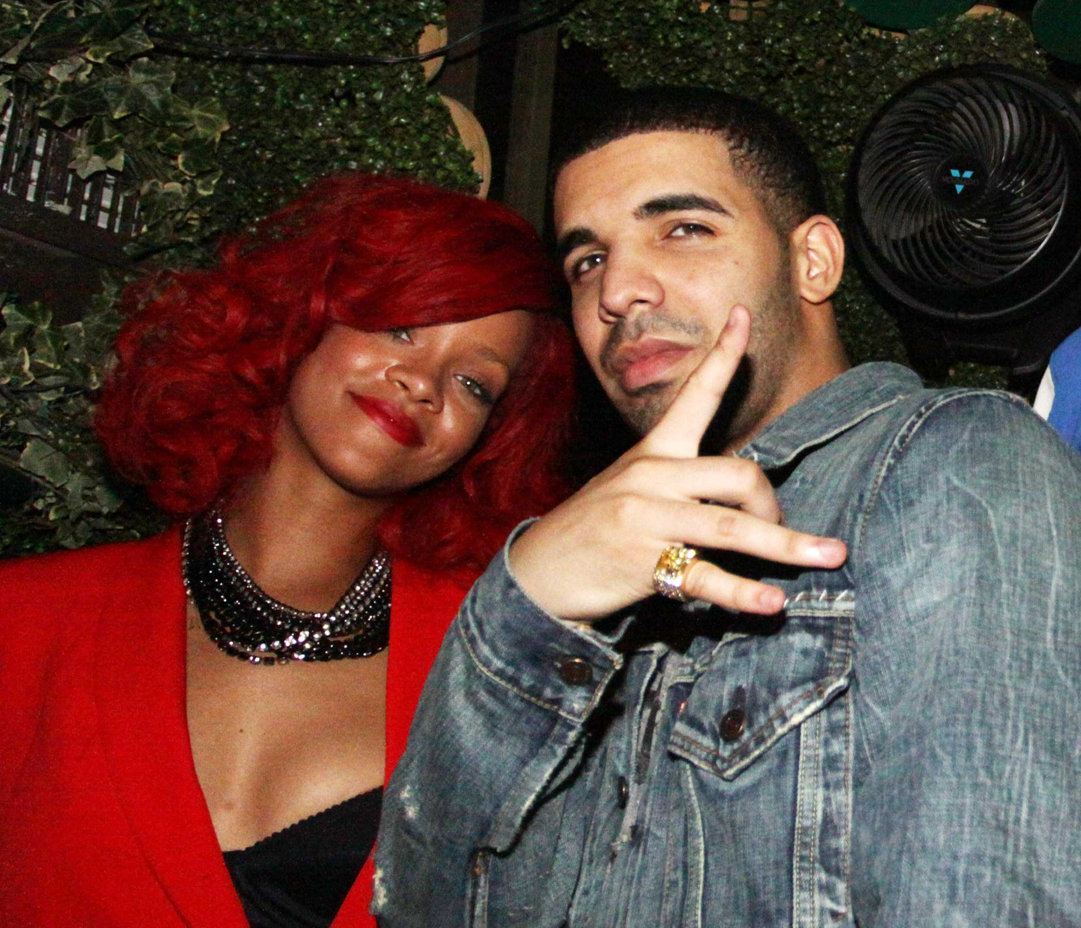 "In 2010, Drake appeared on Rihanna's song ""What's My Name?"" The following year, Rihanna returned the favor and sang on the title track from his 2011 album ""Take Care."" They both starred in each other's music videos."