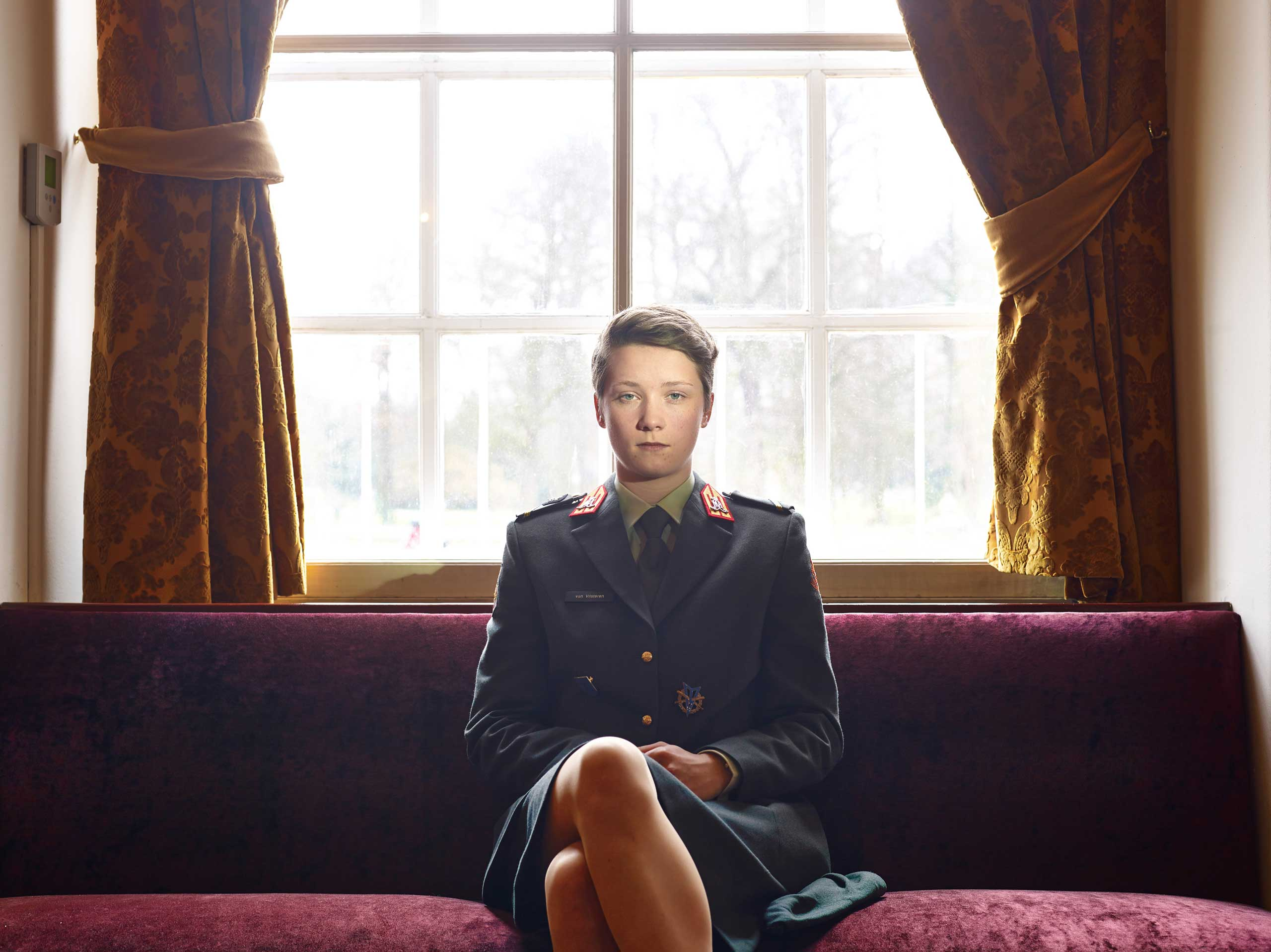 <b>Third Prize Portraits Category, Stories</b>Cadet in the Koninklijke Militaire Academie, Breda, The Netherlands