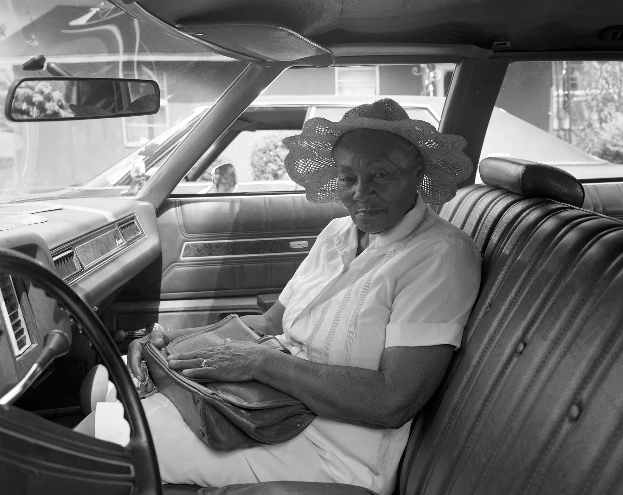 Woman in hat, Lula, Miss., 1984.