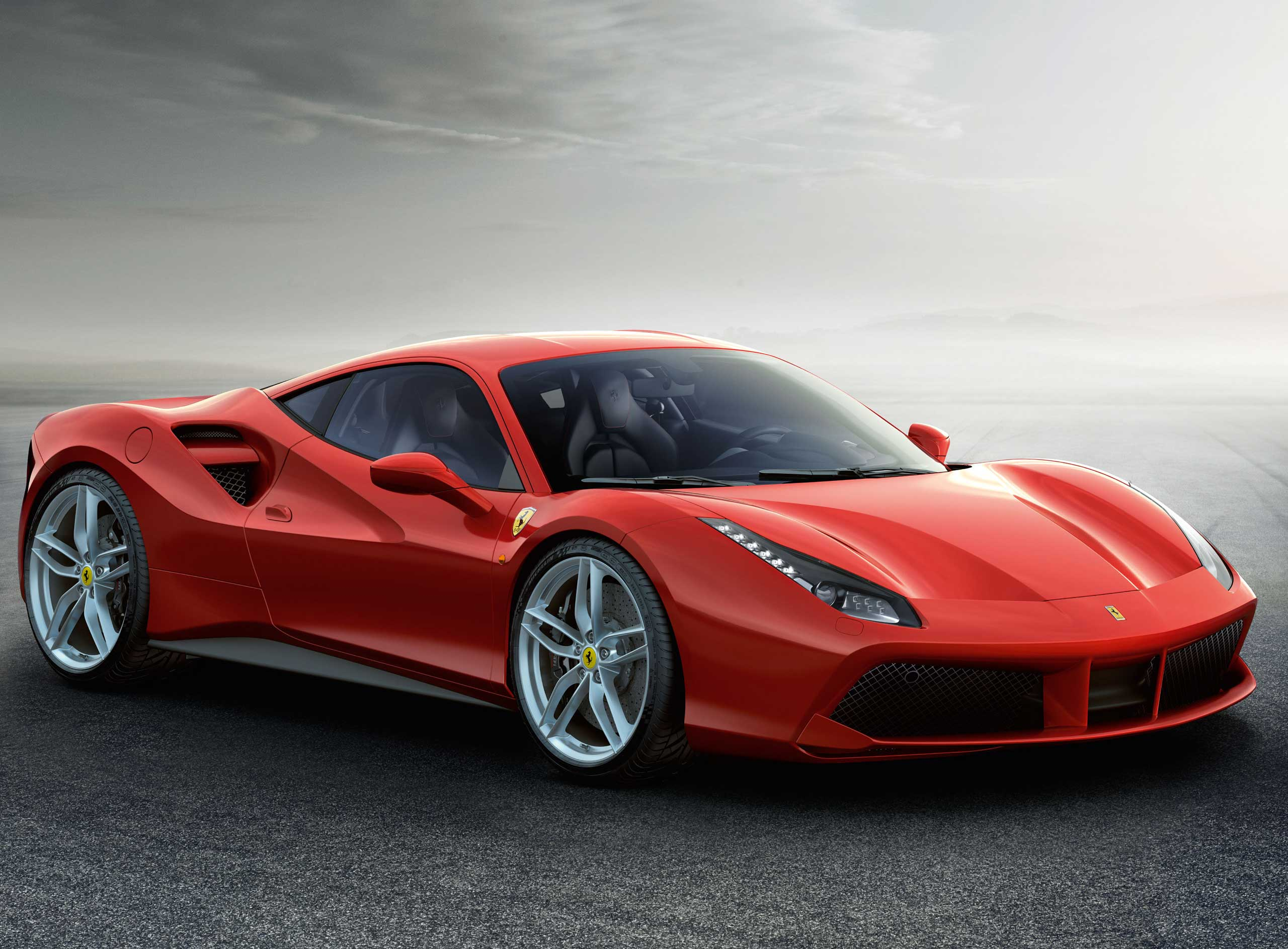 2015: The 488 GTB can accelerate from 0 to 124 miles per hour in 8.3 seconds.
