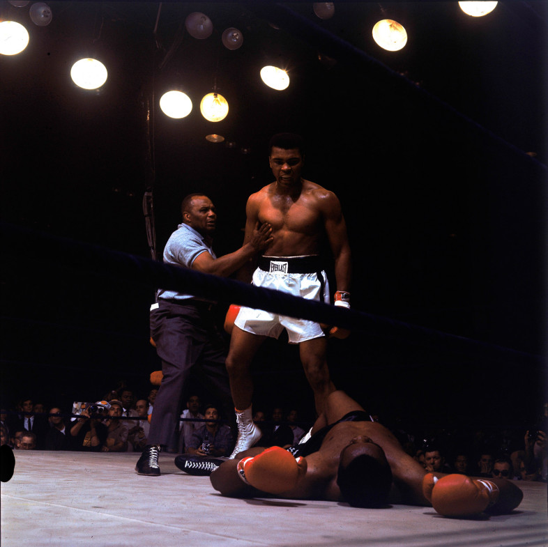 Ali standing over opponent Sonny Liston in Lewiston, Maine, 1965                                                              Evander Holyfield:  I was told at the age of 8 that Ali was the greatest!  I was also told that I could be just like he was. I believed. Happy birthday, Muhammad Ali!  Evander Holyfield is a professional boxer and a five-time world heavyweight champion.
