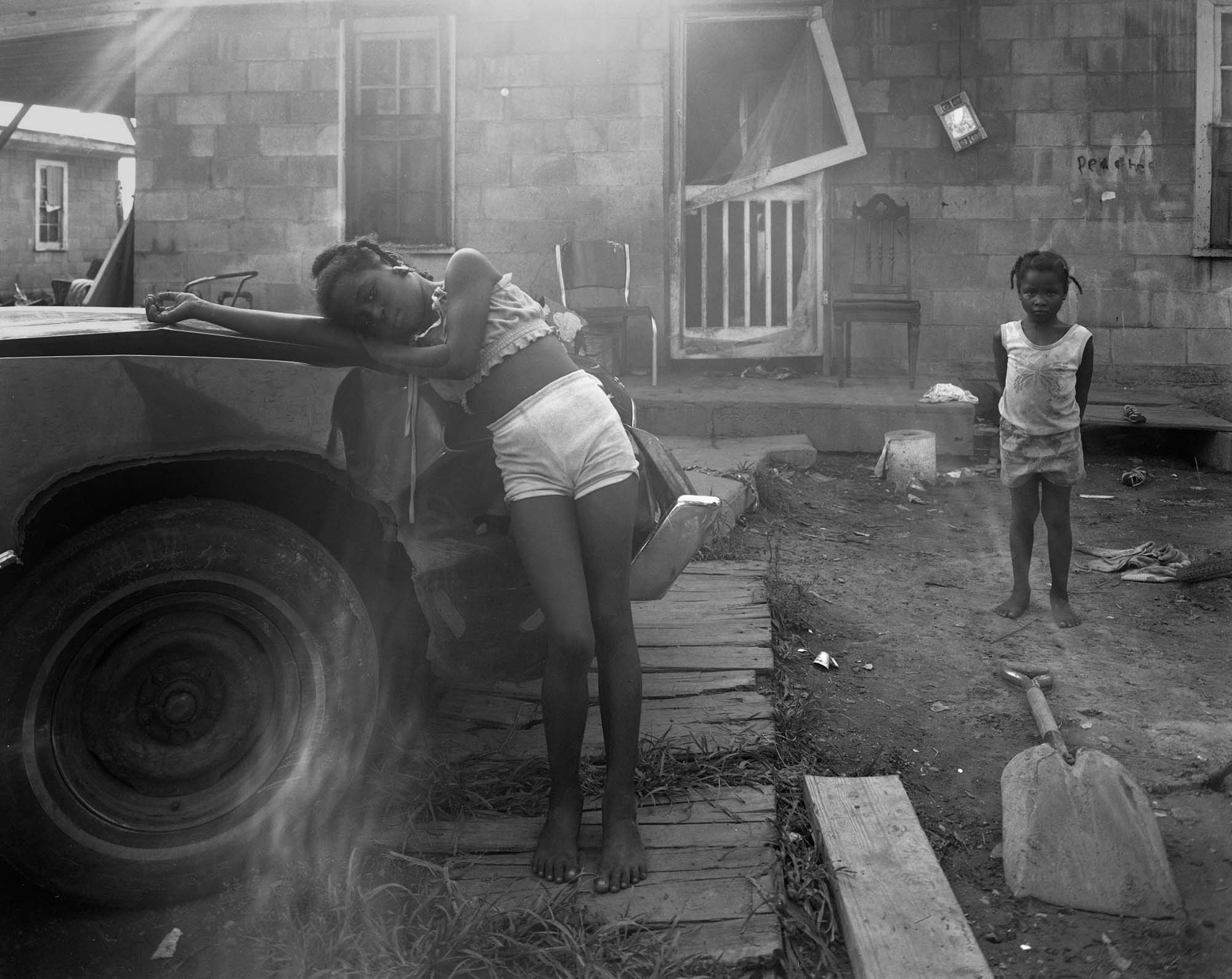 Children and truck, Walls, Ms.,1984.