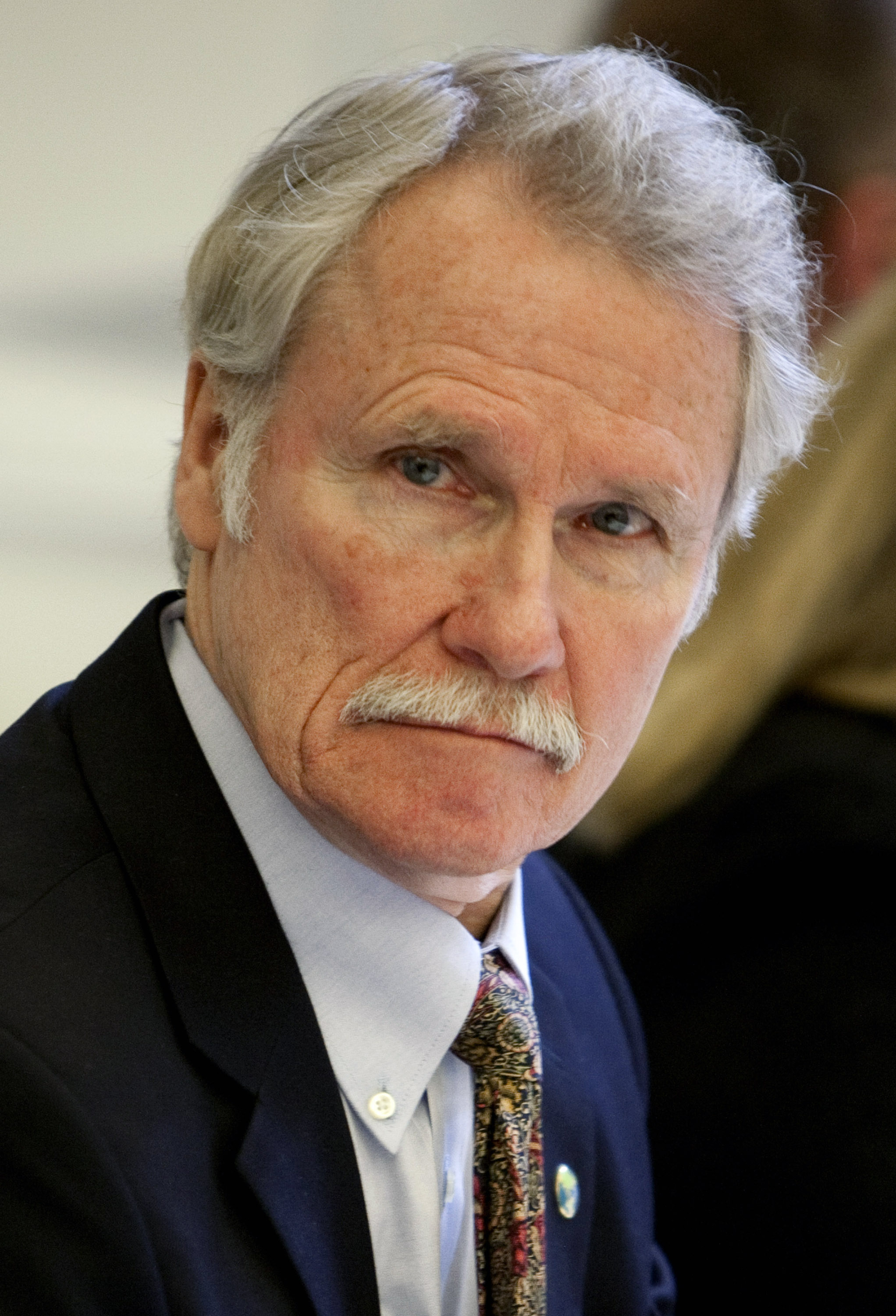 Oregon Governor John Kitzhaber at a roundtable meeting titled  Insourcing American Jobs  in Washington, D.C., on Jan. 11, 2012
