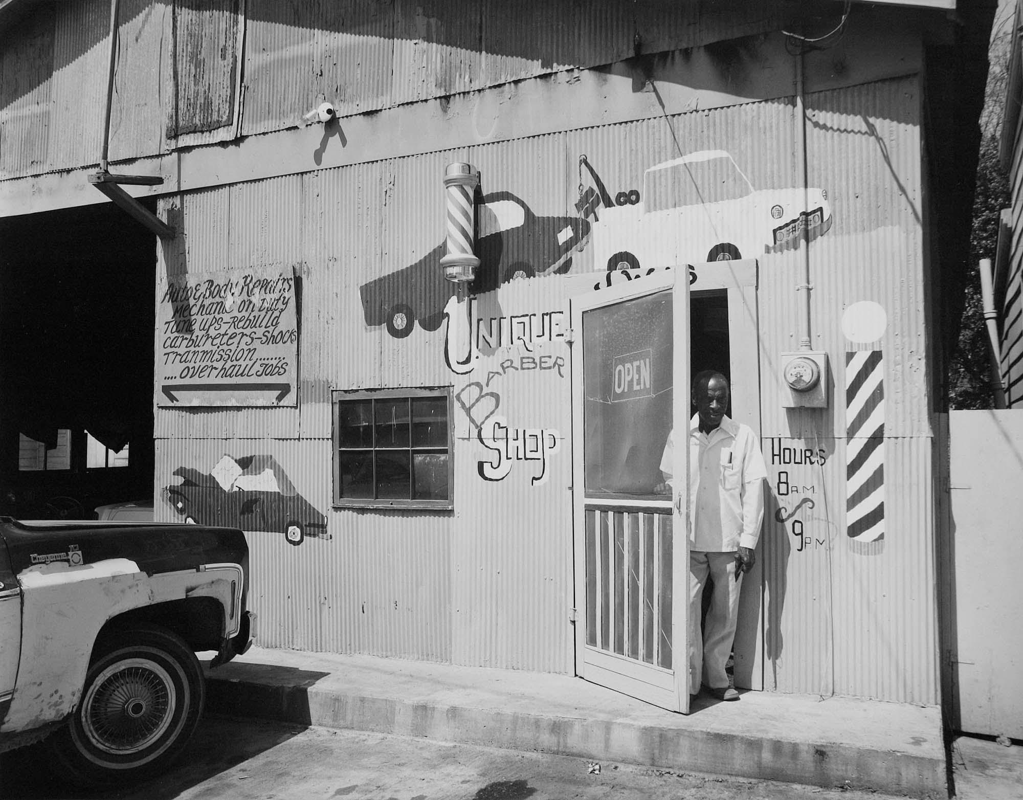 Barber, Vicksburg, Ms.,1983.