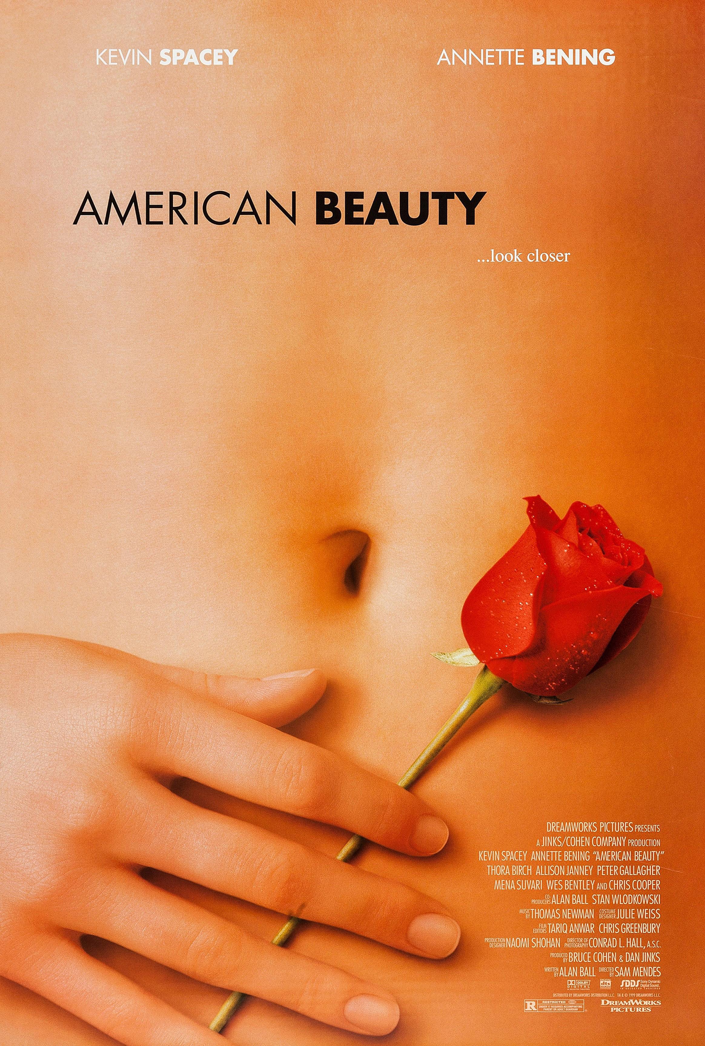 'American Beauty' poster art, 1999