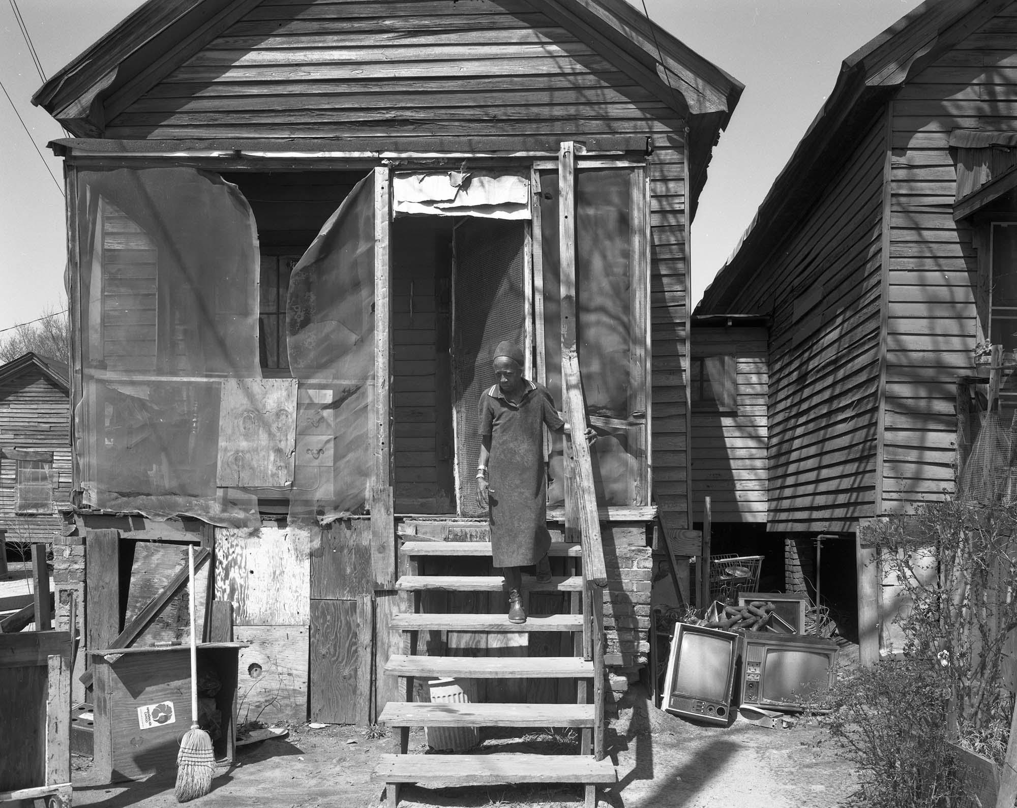 Dirt yard, Macon, Ga.,1983.
