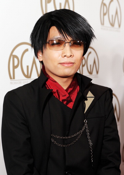 Animator Monty Oum arrives at the 24th Annual Producers Guild Awards held at The Beverly Hilton Hotel on Jan. 26, 2013 in Beverly Hills, Calif.