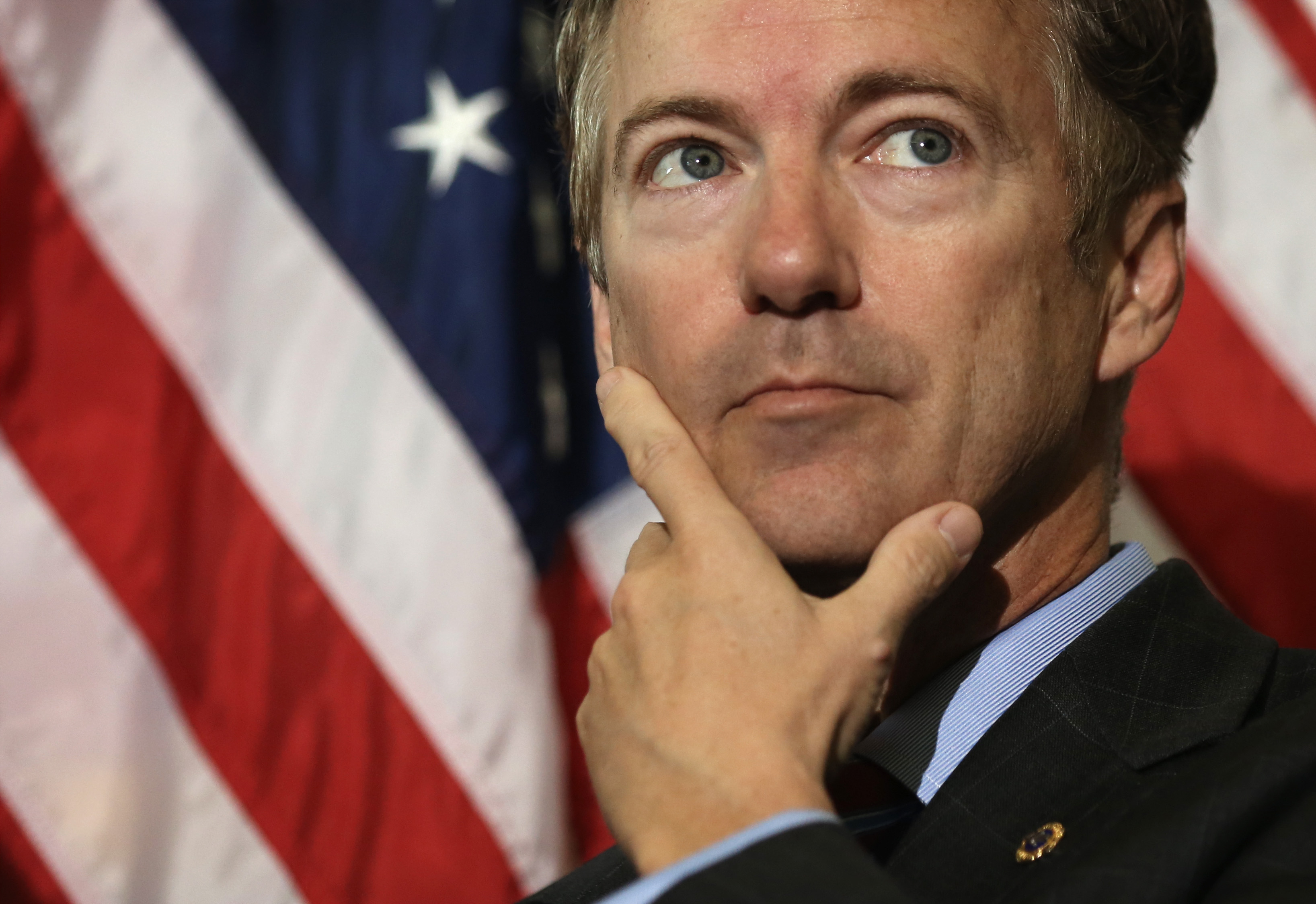 Rand Paul (R-KY) on November 6, 2013 on Capitol Hill in Washington, DC.