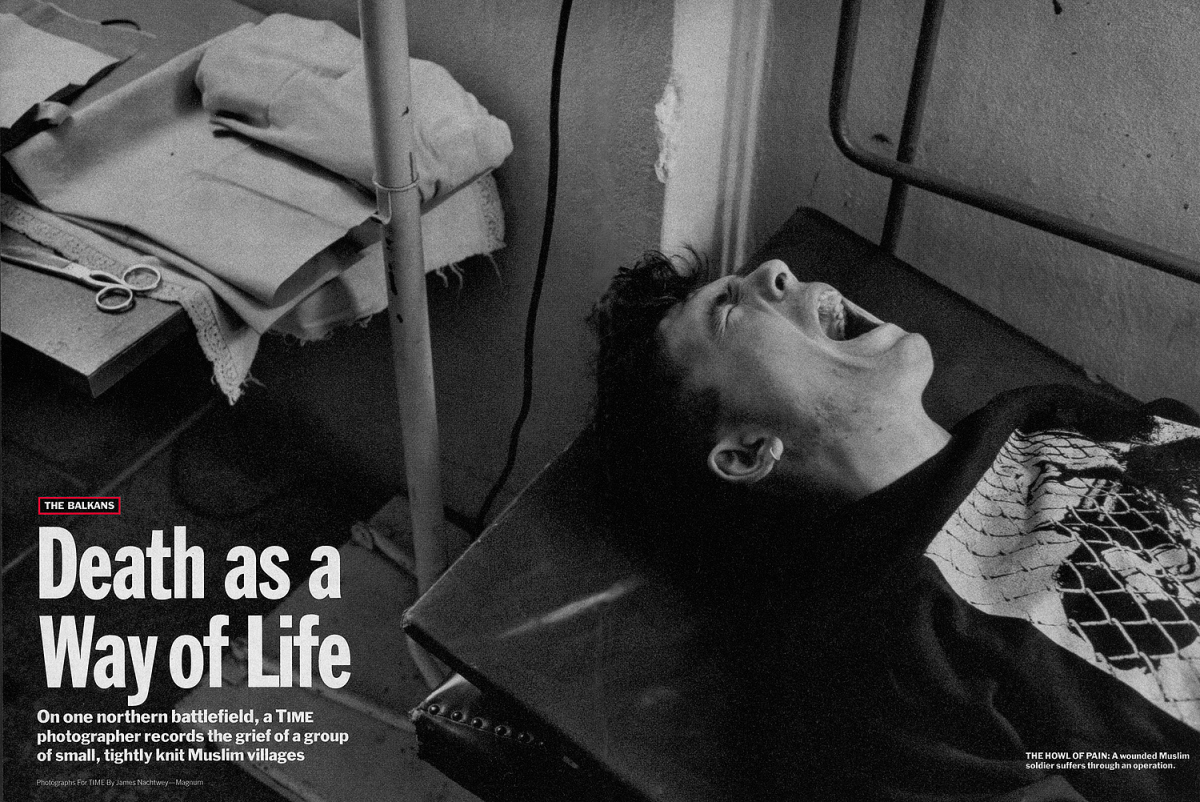 """From """"Death as a Way of Life."""" June 14, 1993 issue."""