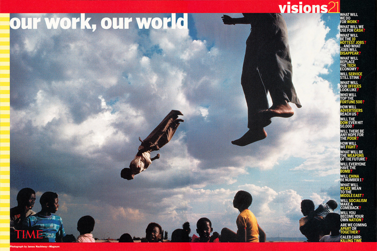 """From """"Our Work, Our World."""" May 22, 2000 issue."""