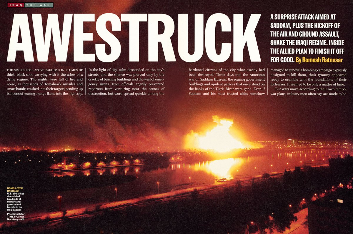 """From """"Awestruck."""" March 31, 2003 issue."""