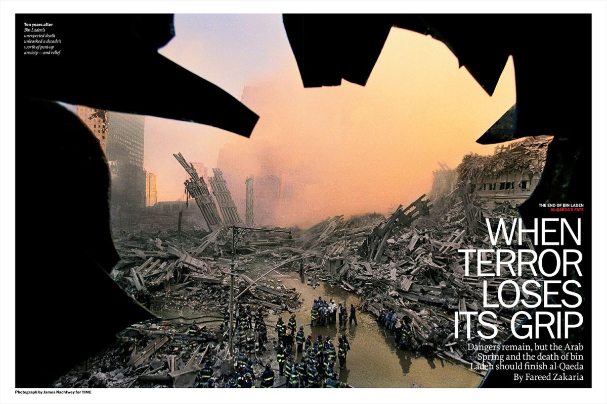 """From """"When Terror Loses its Grip."""" May 20, 2011 issue"""