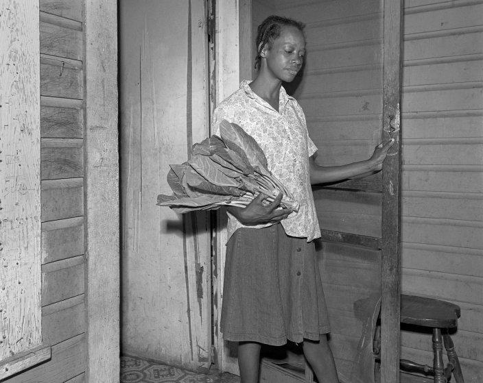 Woman with greens, Quitman, Ga.,1984