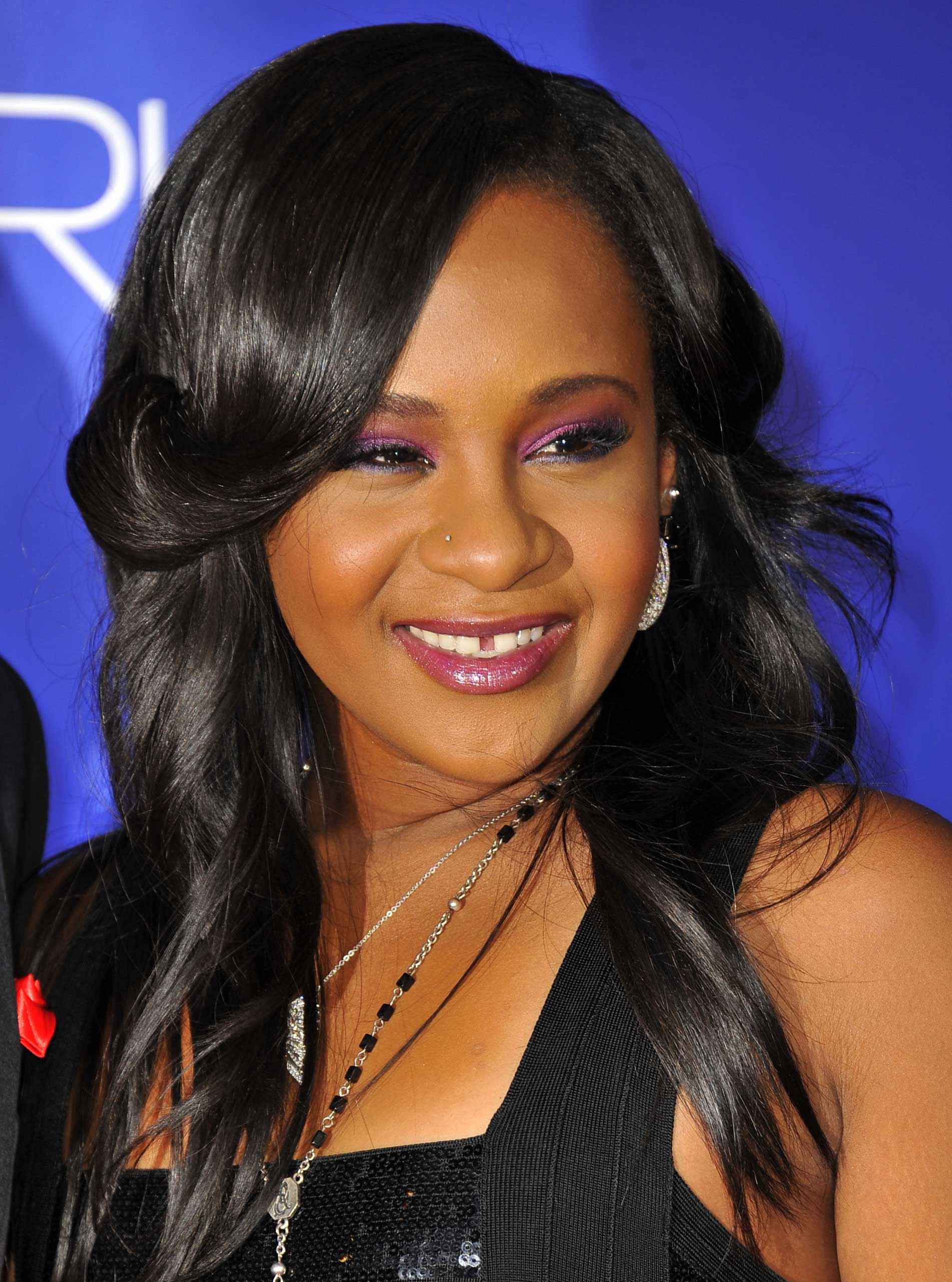Bobbi Kristina Brown attends the Los Angeles premiere of Sparkle at Grauman's Chinese Theatre in Hollywood on Aug. 16, 2012