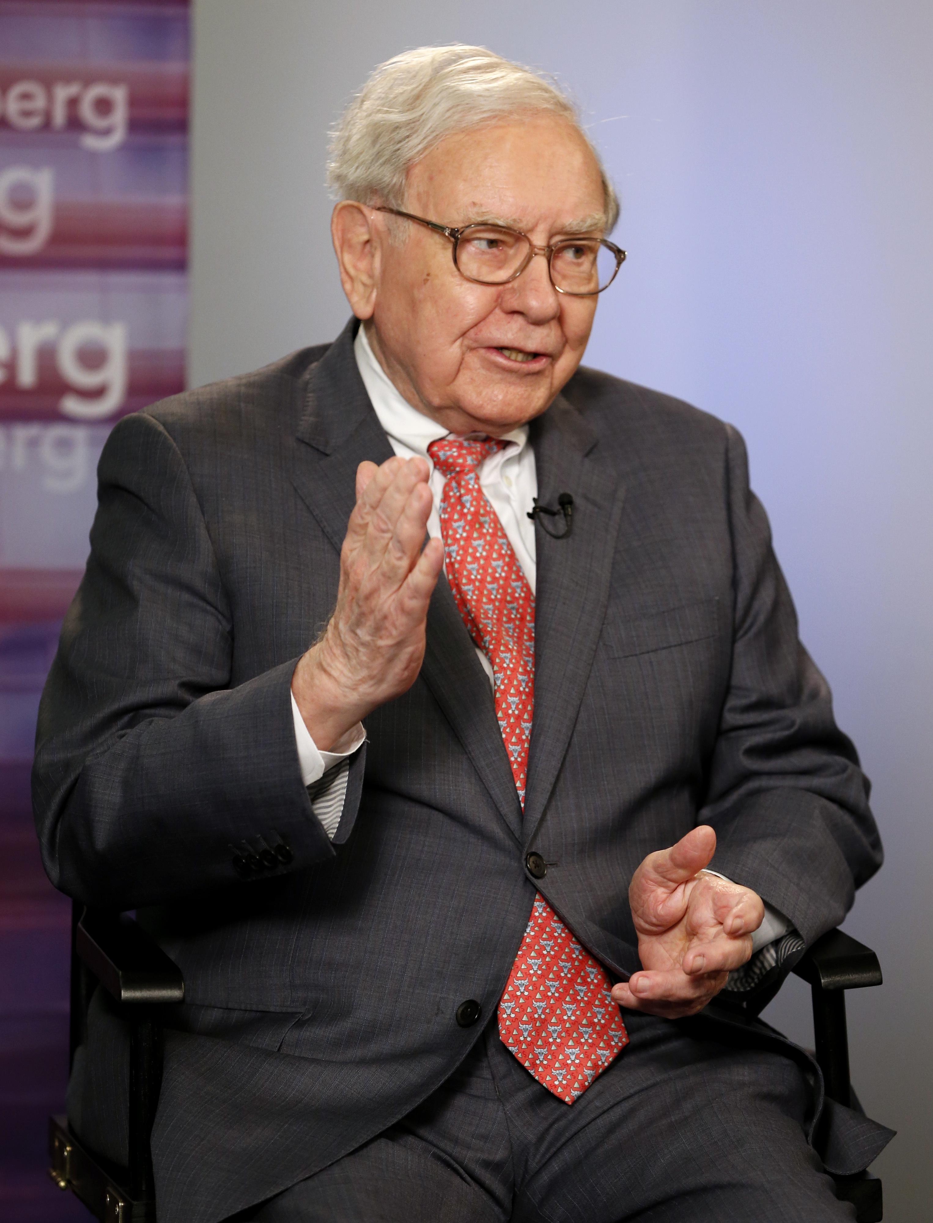 Warren Buffett at a Goldman Sachs 10,000 Small Businesses event in Detroit on Sept. 18, 2014.