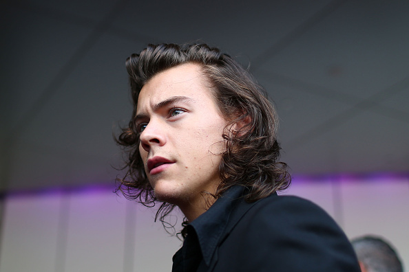 Harry Styles from One Direction arrives at the 28th Annual ARIA Awards 2014 at the Star in Sydney on Nov. 26, 2014
