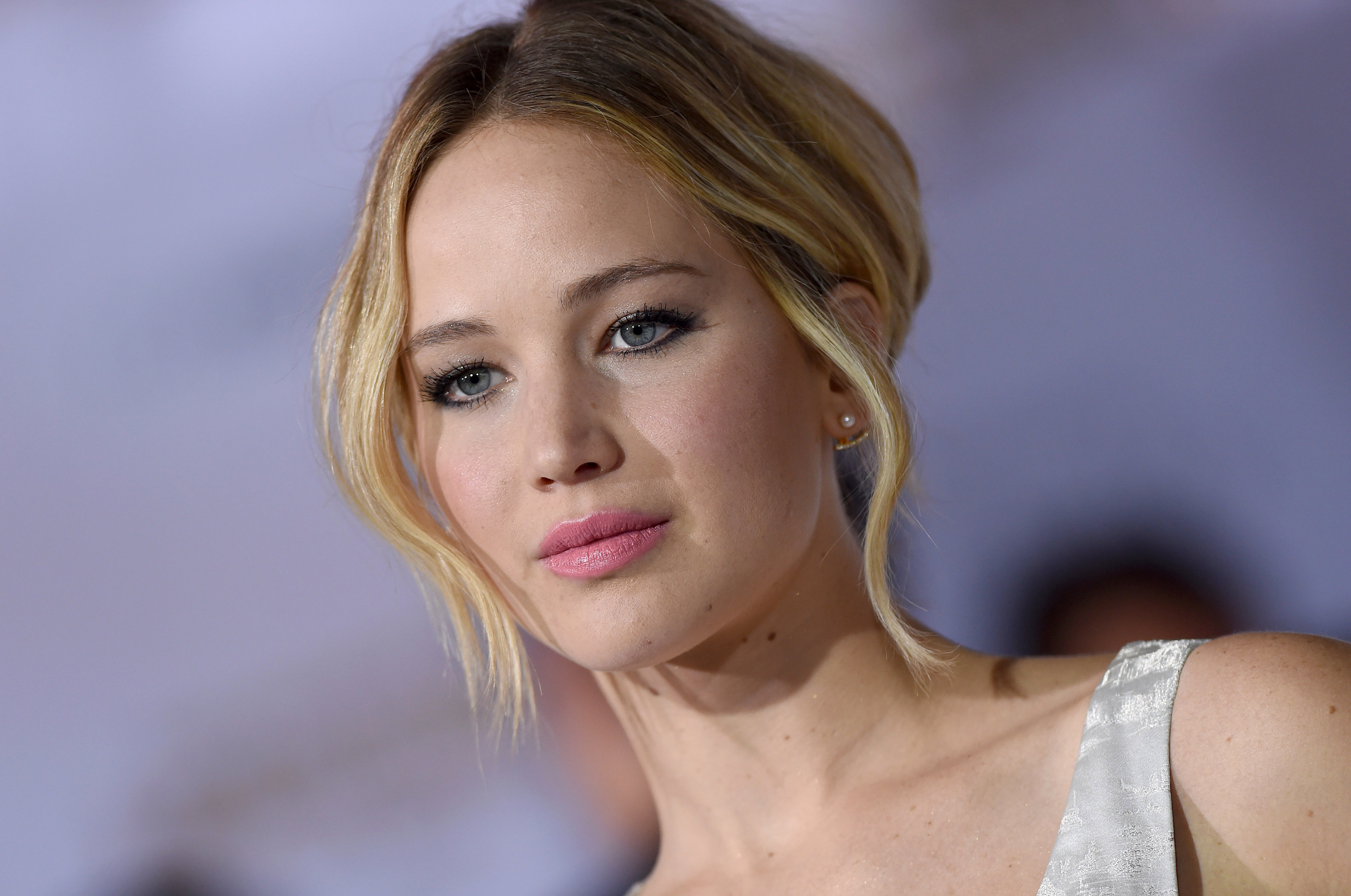 Actress Jennifer Lawrence at the Los Angeles premiere of The Hunger Games: Mockingjay–Part 1 on Nov. 17, 2014