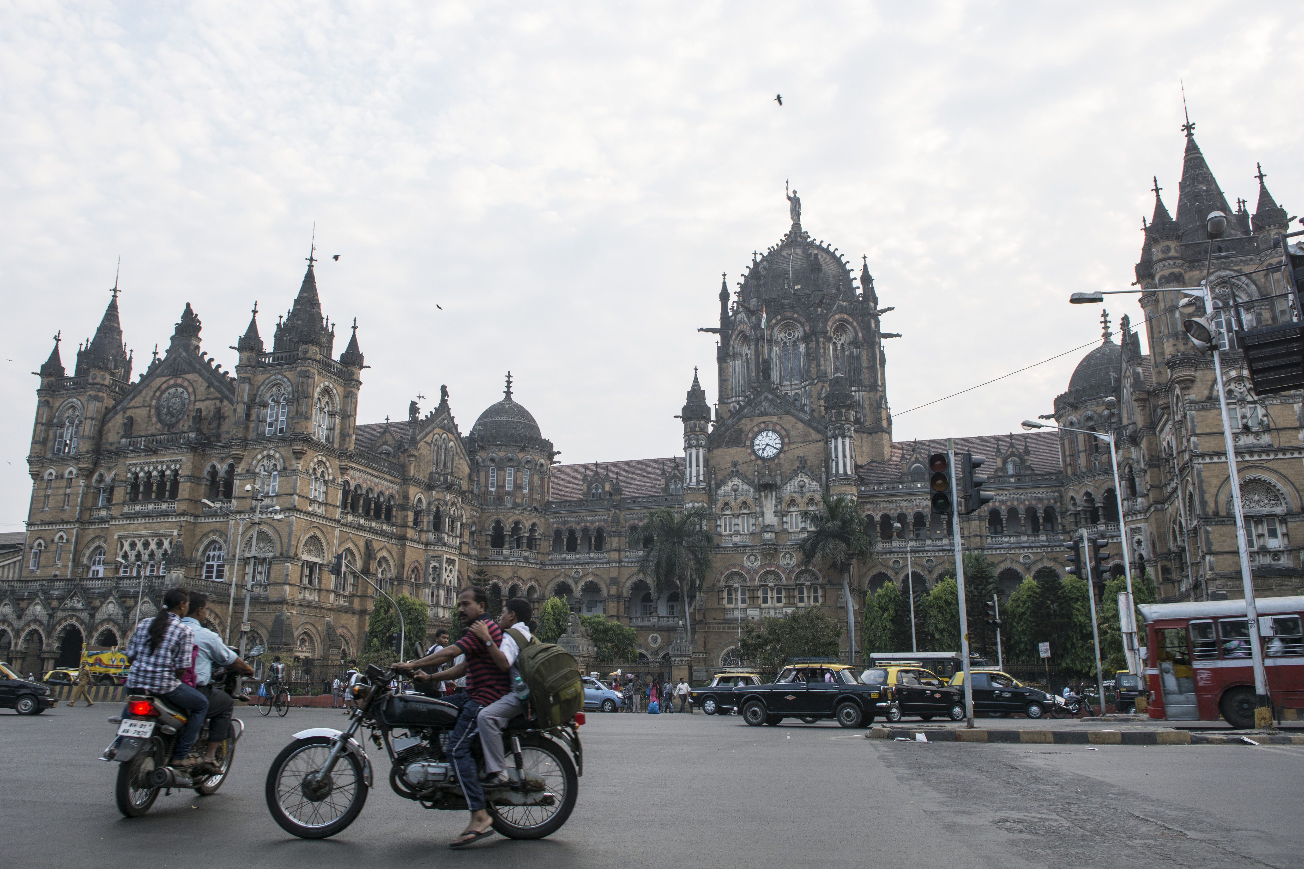 The Mumbai central railway station, today named Chhatrapati Shivaji Terminus, is formerly known as Victoria Terminus