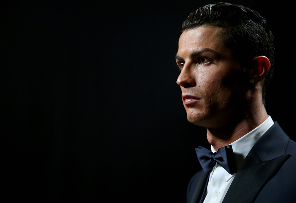 Cristiano Ronaldo looks on during the FIFA Ballon d'Or Gala 2014 at the Kongresshaus in Zurich on Jan. 12, 2015
