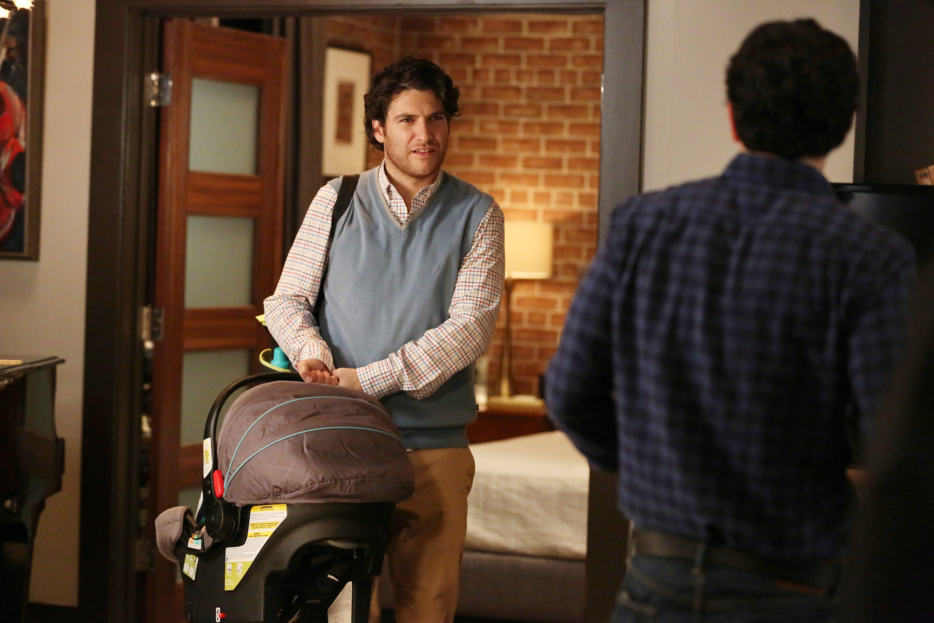The Mindy Project --  San Francisco Bae  Episode 313 -- Pictured: Adam Pally as Peter.