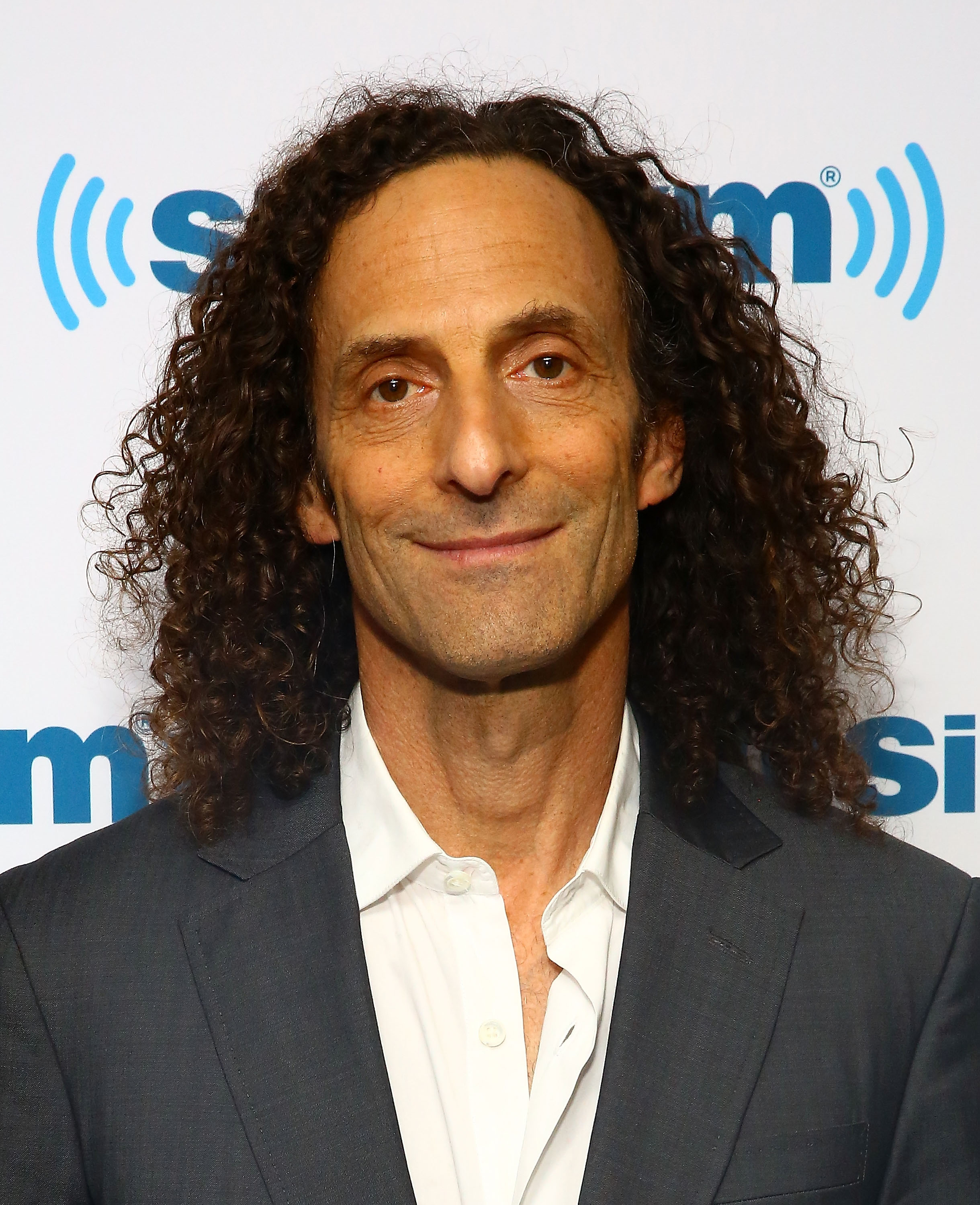 Musician Kenny G visits the SiriusXM Studios on Jan. 28, 2015 in New York City.