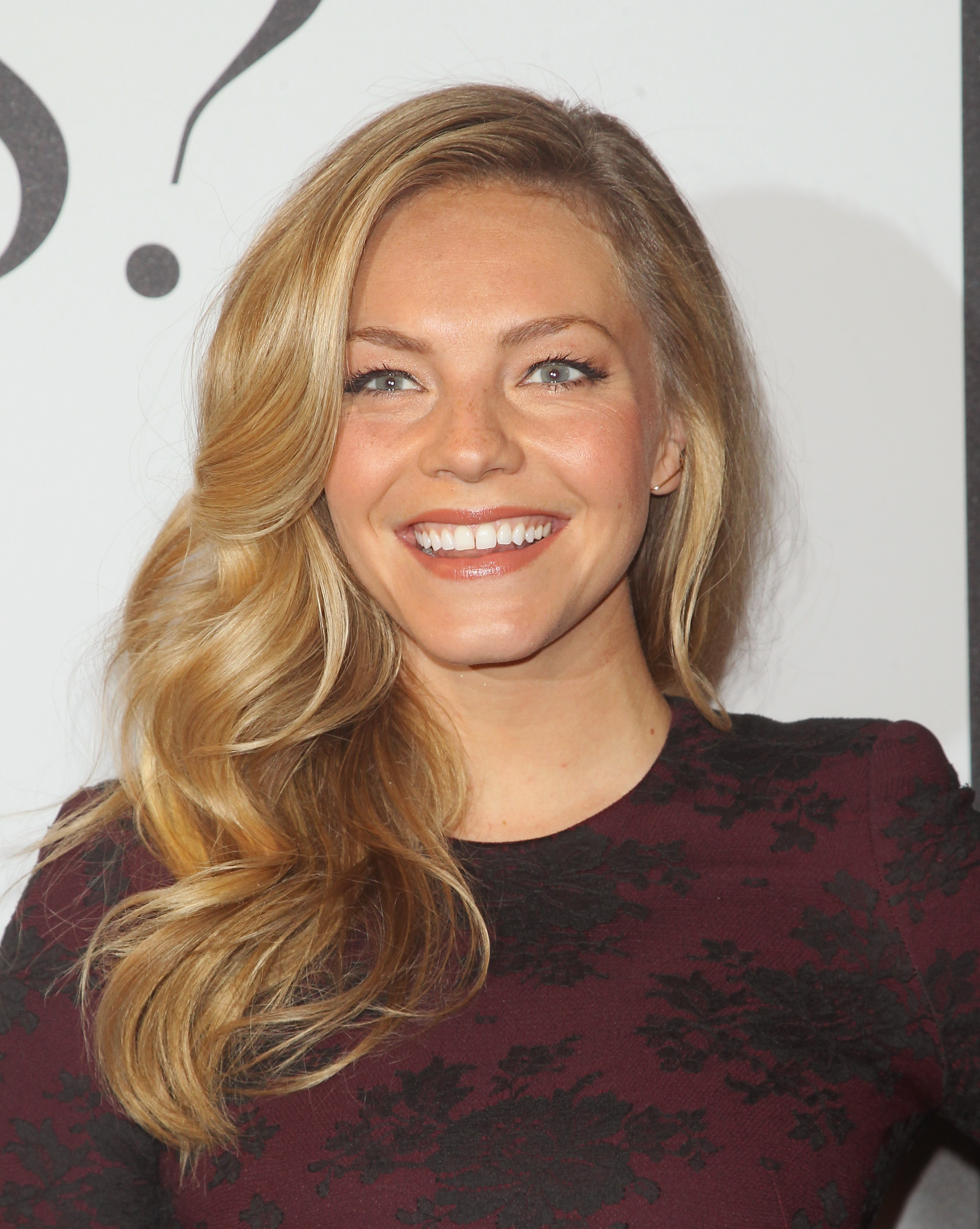Actress Eloise Mumford attends the  Fifty Shades Of Grey  New York fan first screening at Ziegfeld Theatre on February 6, 2015 in New York City.