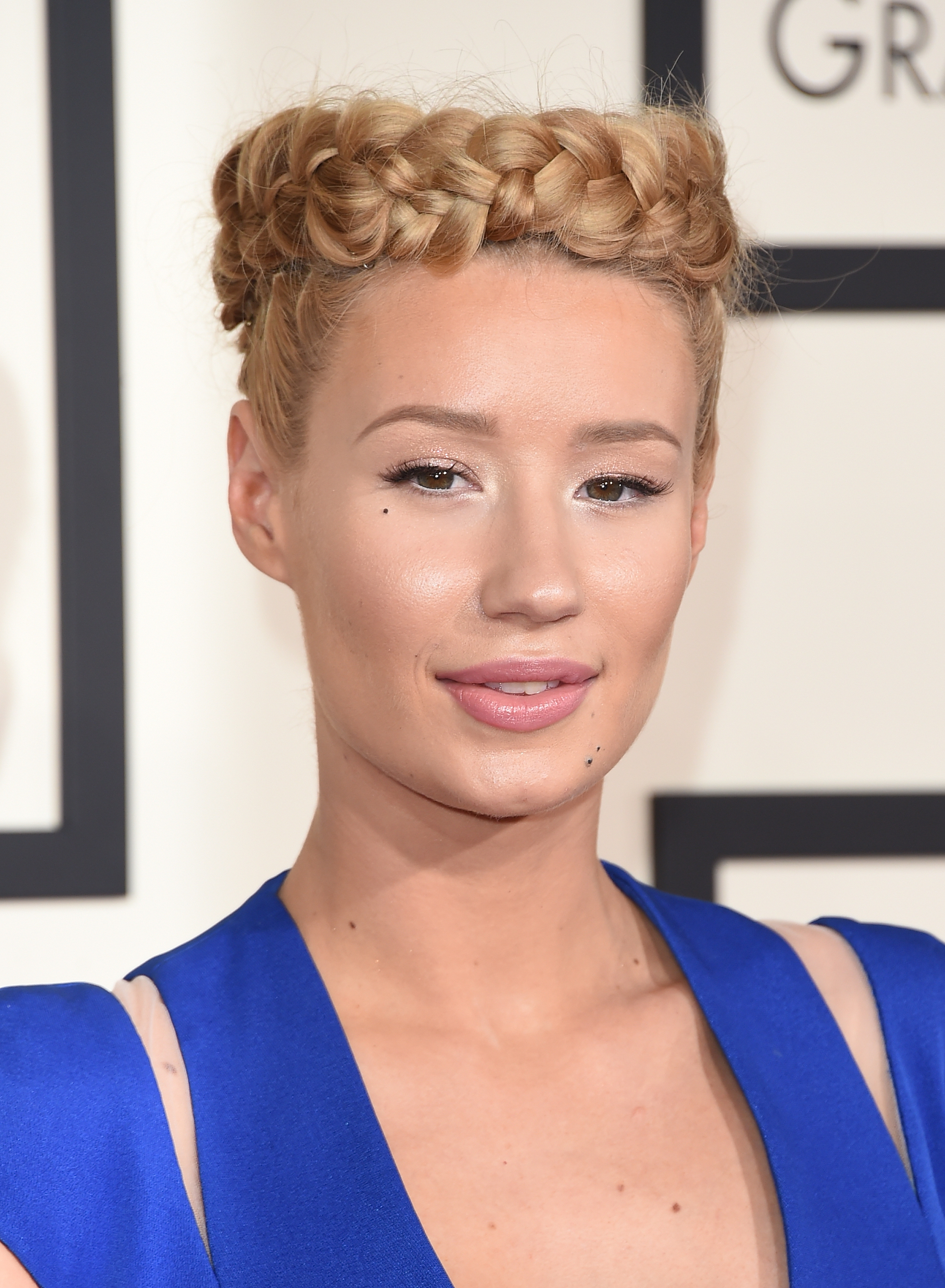 Singer Iggy Azalea attends The 57th Annual GRAMMY Awards at the STAPLES Center on February 8, 2015 in Los Angeles, California.