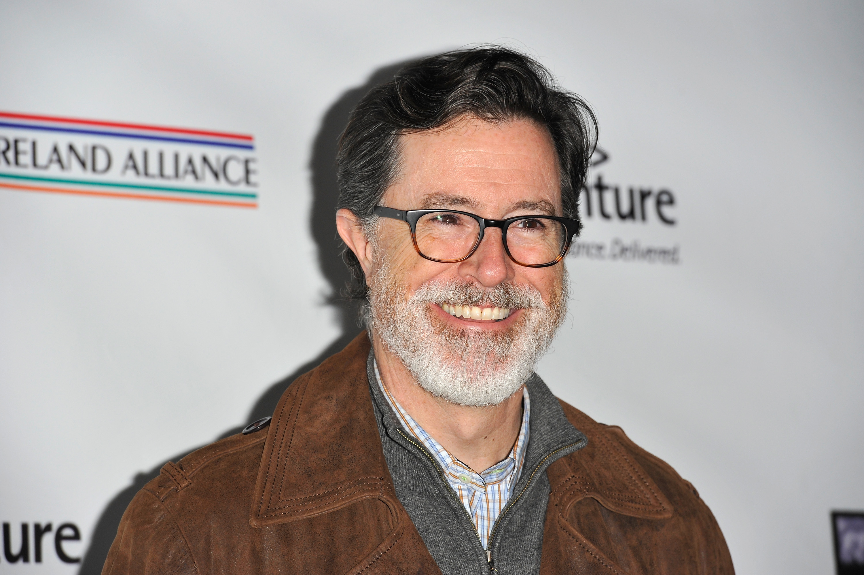 Stephen Colbert at Bad Robot on February 19, 2015 in Santa Monica, California.