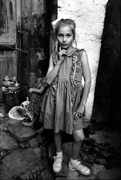 Beautiful Emine posing, Trabzon, Turkey 1965