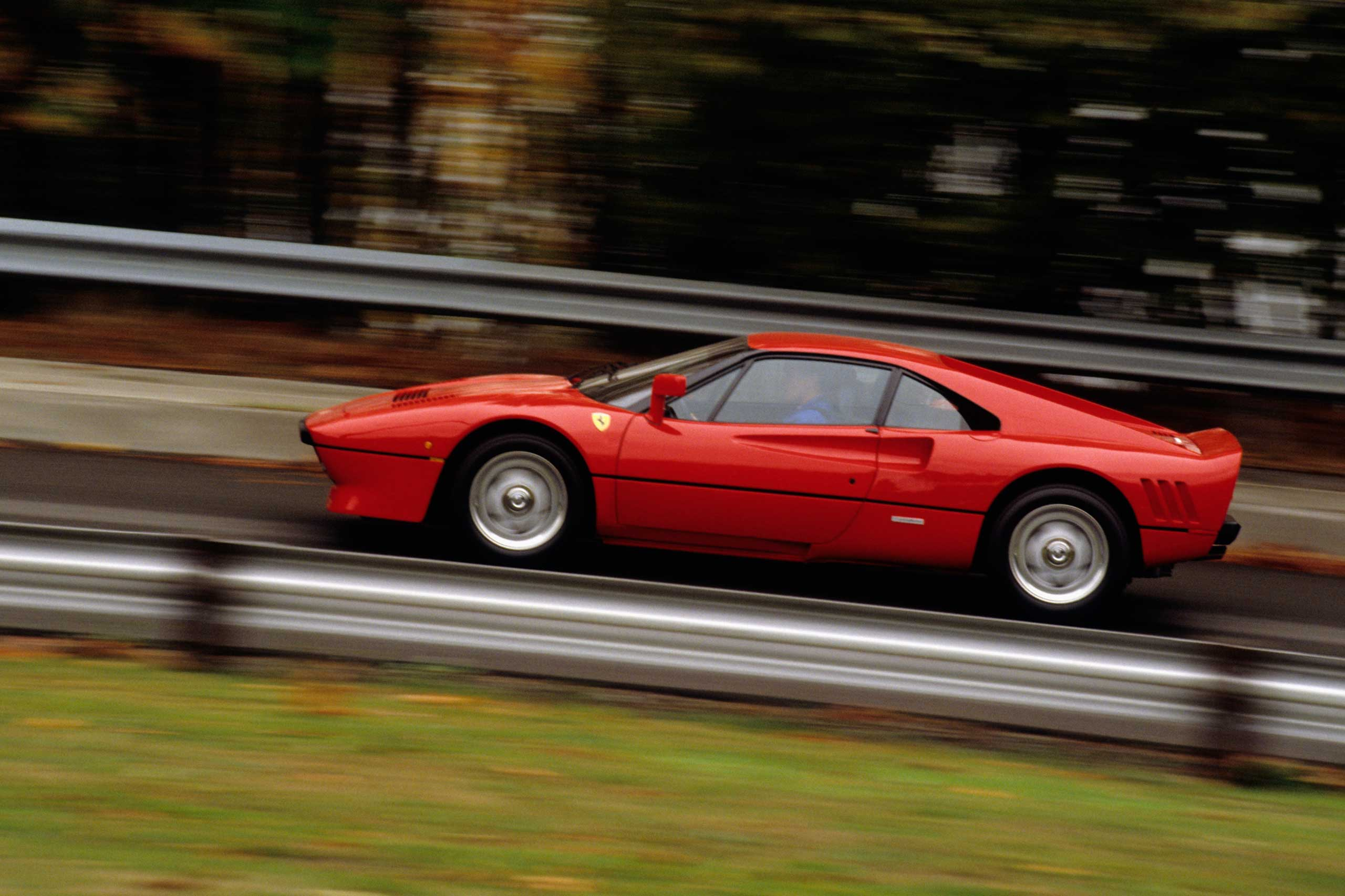 1988: The 288 GTO was named for the car's 2.8 liter V8 engine.