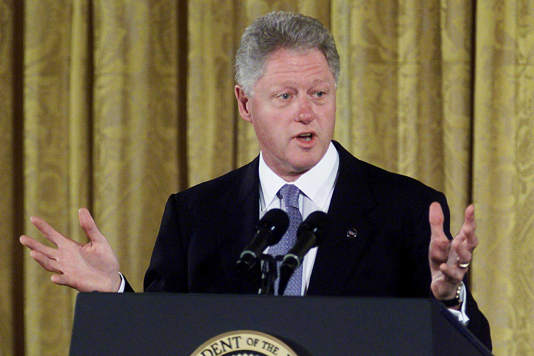 """<b>Estate Tax, Clinton, 1999</b> When President Clinton vetoed a $792 billion tax cut in 1999, Congressional Republicans began trying to pass it piece-by-piece the following year. But Clinton vetoed those too, including their repeal of the federal estate tax.  Clinton said repealing the estate tax was """"wrong on the grounds of fairness and it is wrong on the grounds of fiscal priorities."""""""