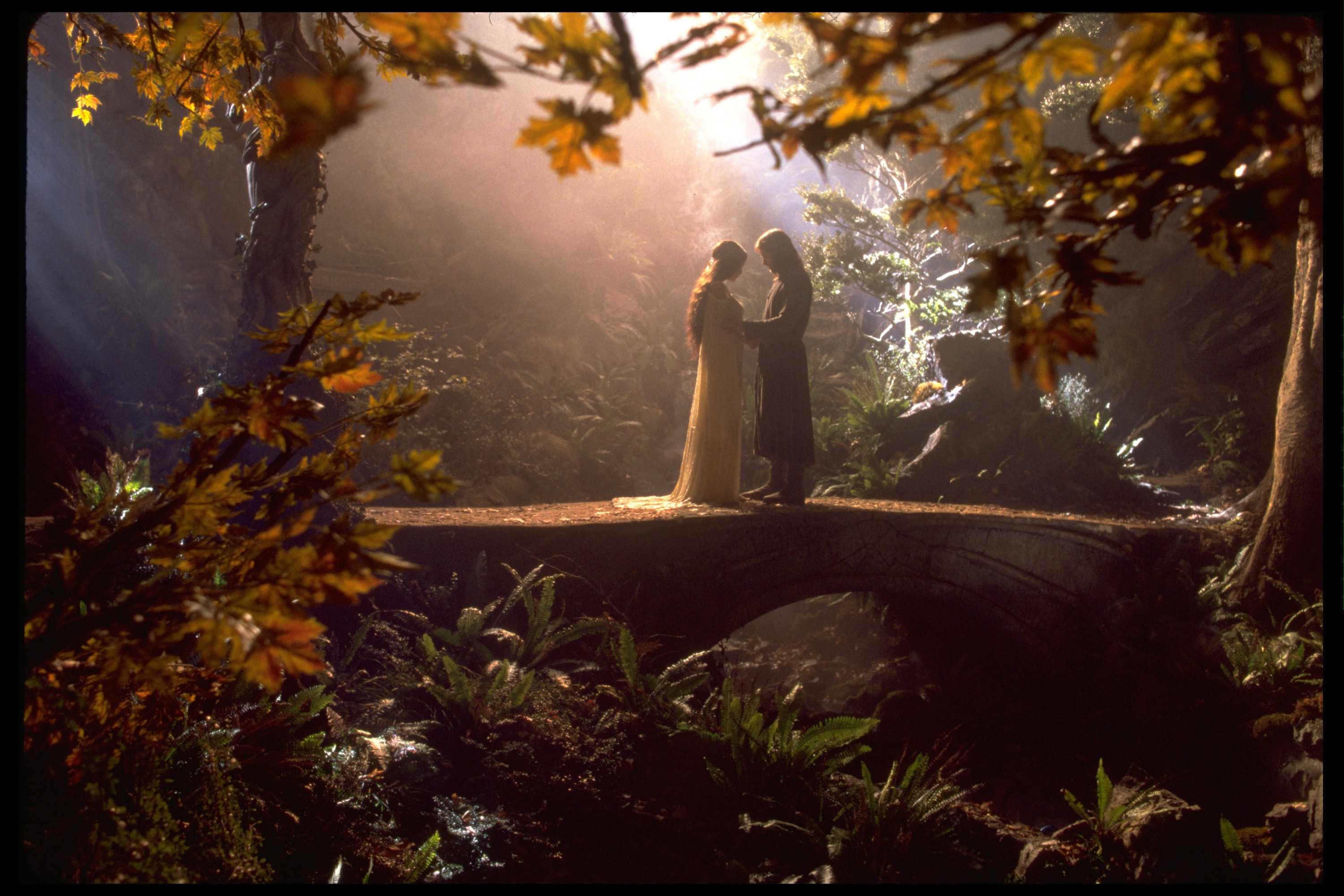 Academy Award? nominees Grant Major for Best Art Direction and Dan Hennah for Best Set Decoration in New Line Cinema's epic adventure,  The Lord of the Rings: The Fellowship of the Ring.  (Photo by New Line/WireImage)