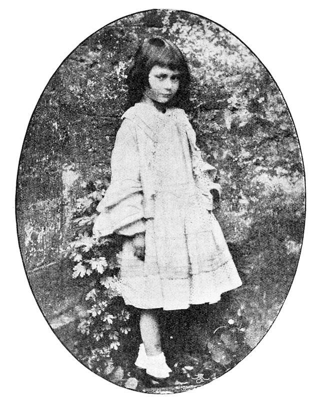 A photograph of Alice Liddell taken by Lewis Carroll in 1858
