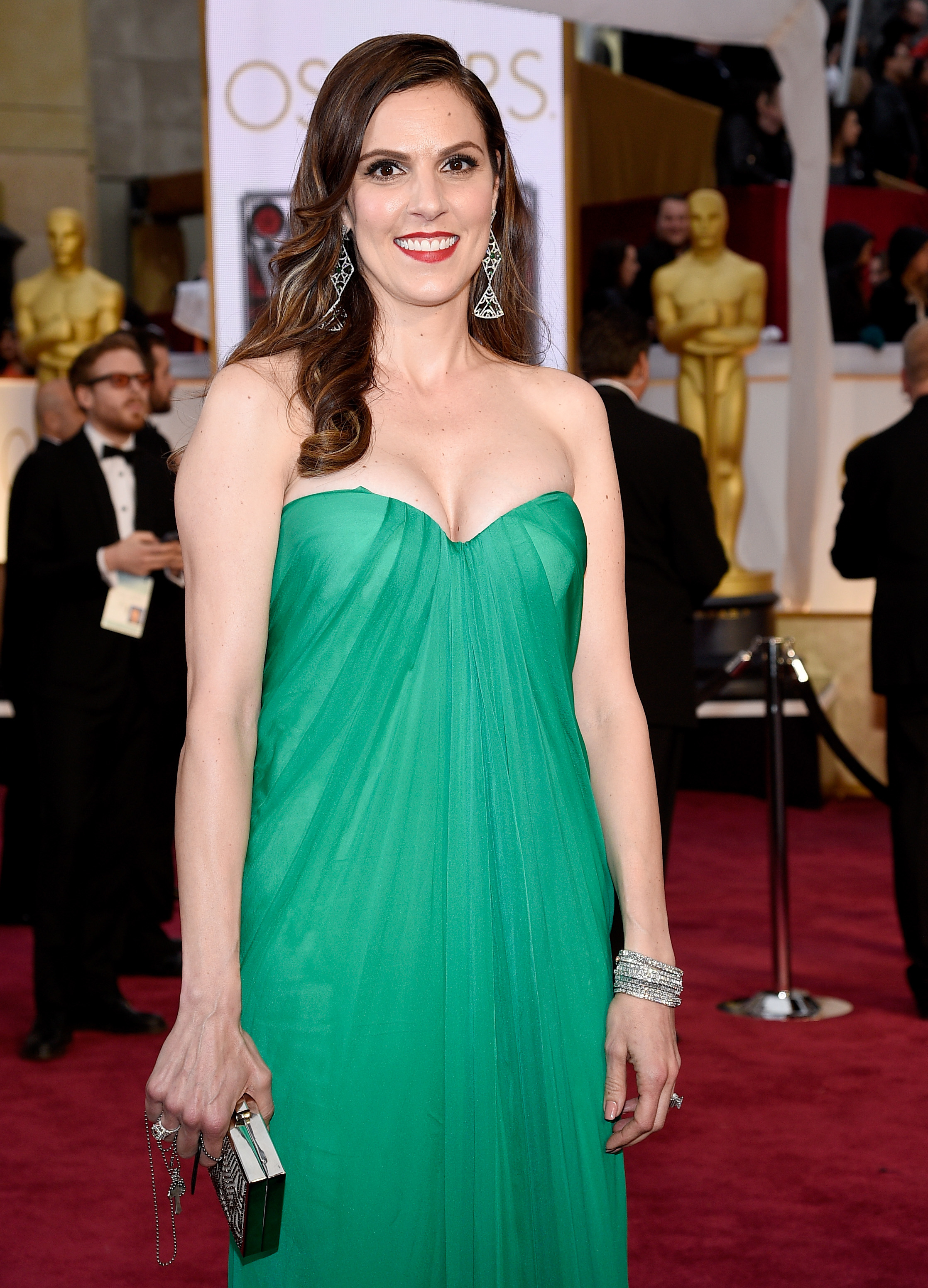 HOLLYWOOD, CA - FEBRUARY 22:  Taya Kyle  attends the 87th Annual Academy Awards at Hollywood & Highland Center on February 22, 2015 in Hollywood, California