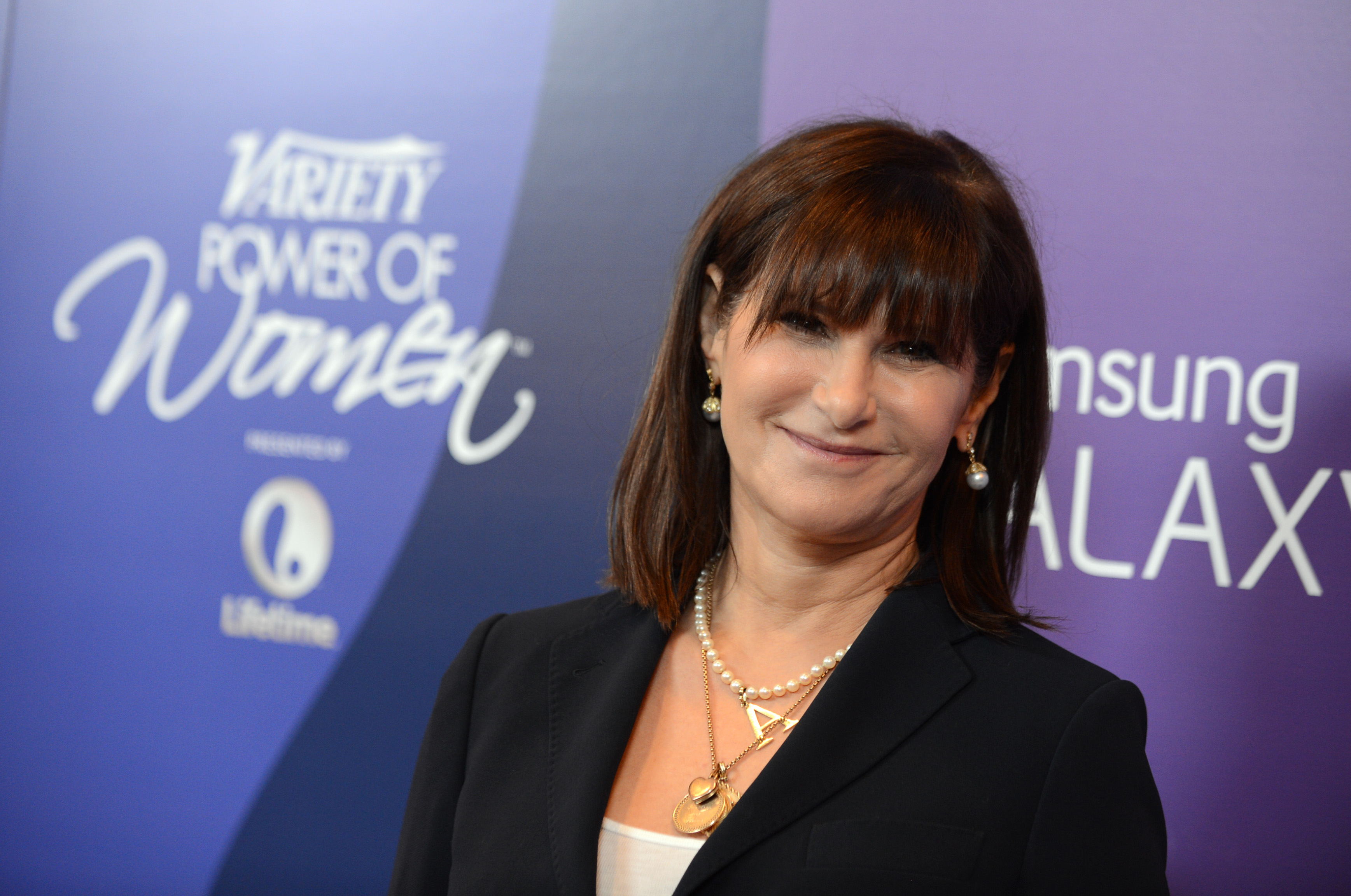 Amy Pascal, Sony Pictures Entertainment co-chairperson, arrives at Variety's 5th Annual Power of Women event at the Beverly Wilshire Hotel in Beverly Hills on Oct. 4, 2013