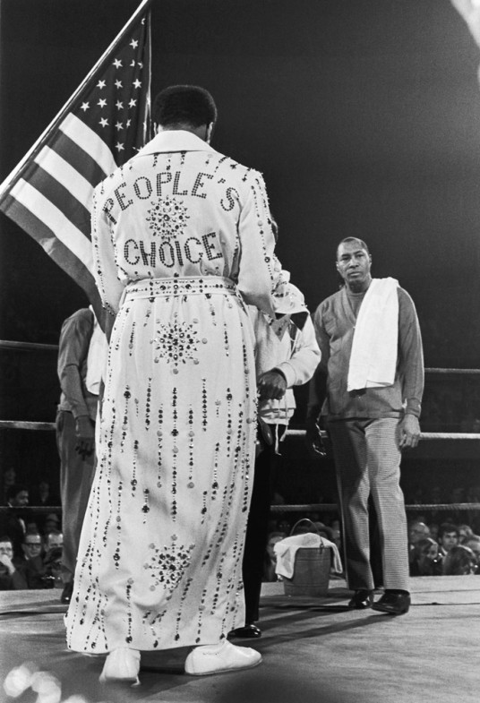 Ali in an elaborate robe made for him by Elvis Presley, 1973                                                              Billie Jean King:  Muhammad Ali is one of the few people who can say they are the greatest in the world ... and really back it up. He transcends time, remains relative to people of all ages and truly is an American treasure. Our careers played out together, and often we spent time side by side at awards banquets, and to this day, every time our paths cross, he leans close to me and says, 'Billie Jean King, you're the Queen.' Yes, Muhammad Ali, you truly are the greatest ... and you're the King.  Billie Jean King is a professional tennis player.