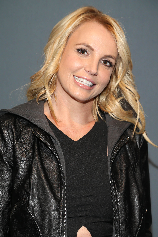 Britney Spears arrives at the Super Bowl XLIX red carpet on Feb. 1, 2015 in Glendale, Ariz.
