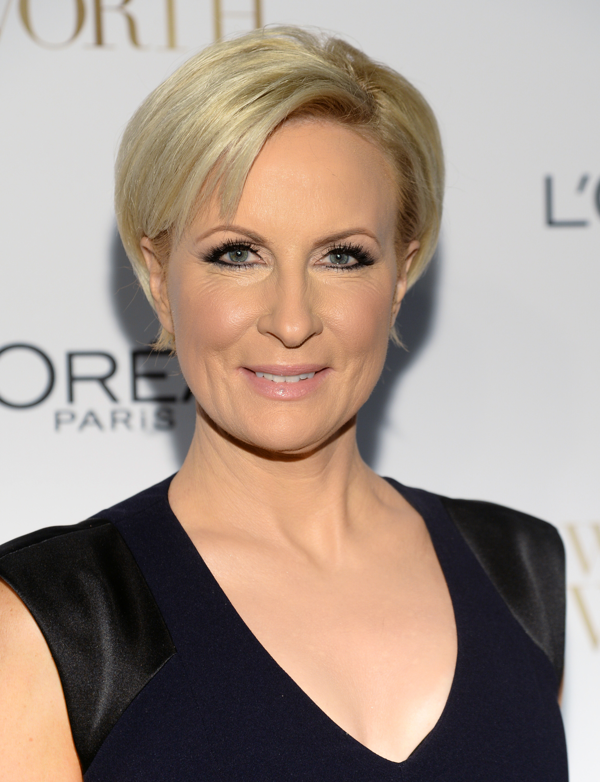 Mika Brzezinski arrives at the Ninth Annual Women of Worth Awards in New York City on Dec. 2, 2014.