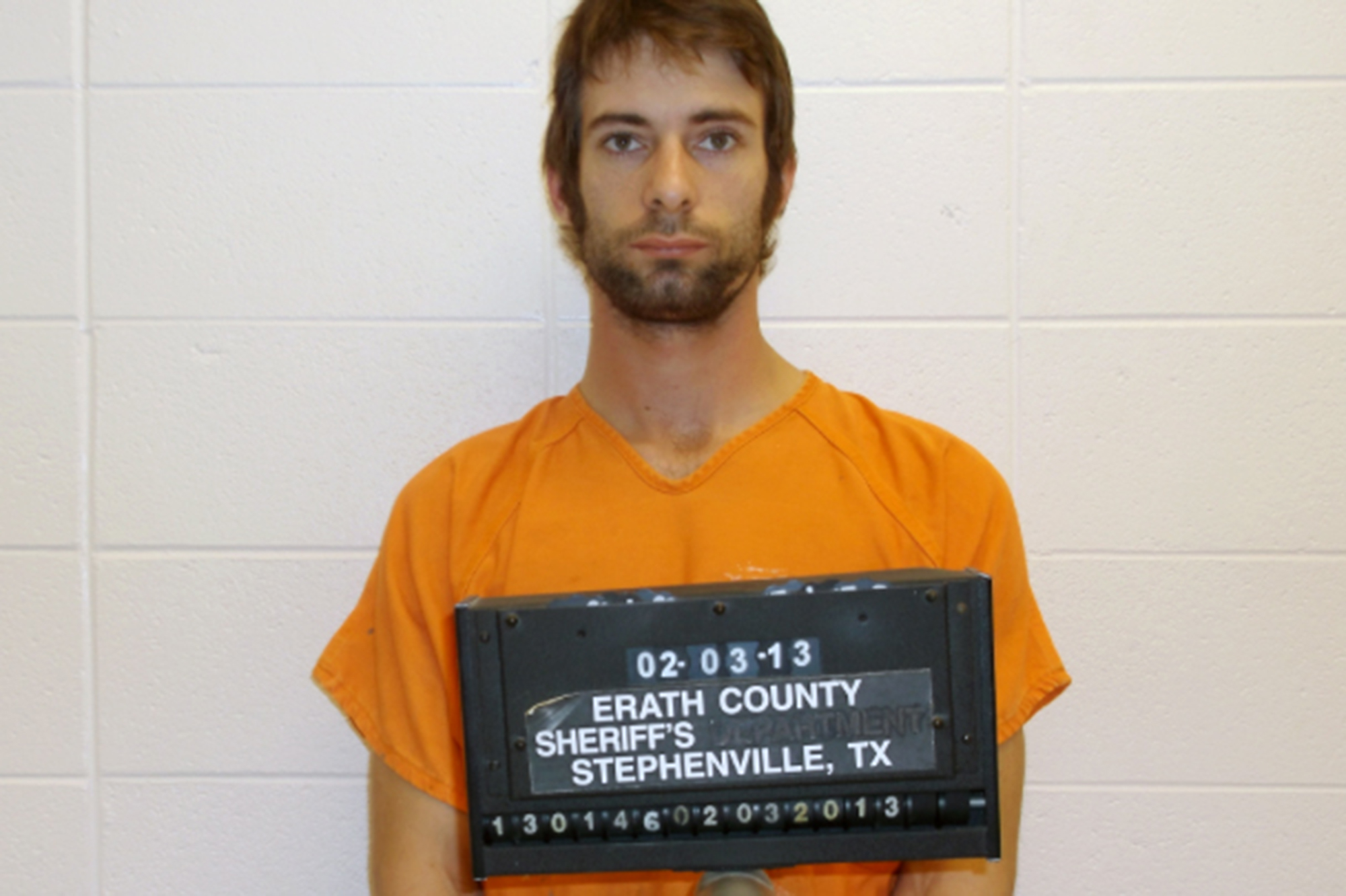 This undated photo provided by the Erath County Sheriff's Office shows Eddie Ray Routh.