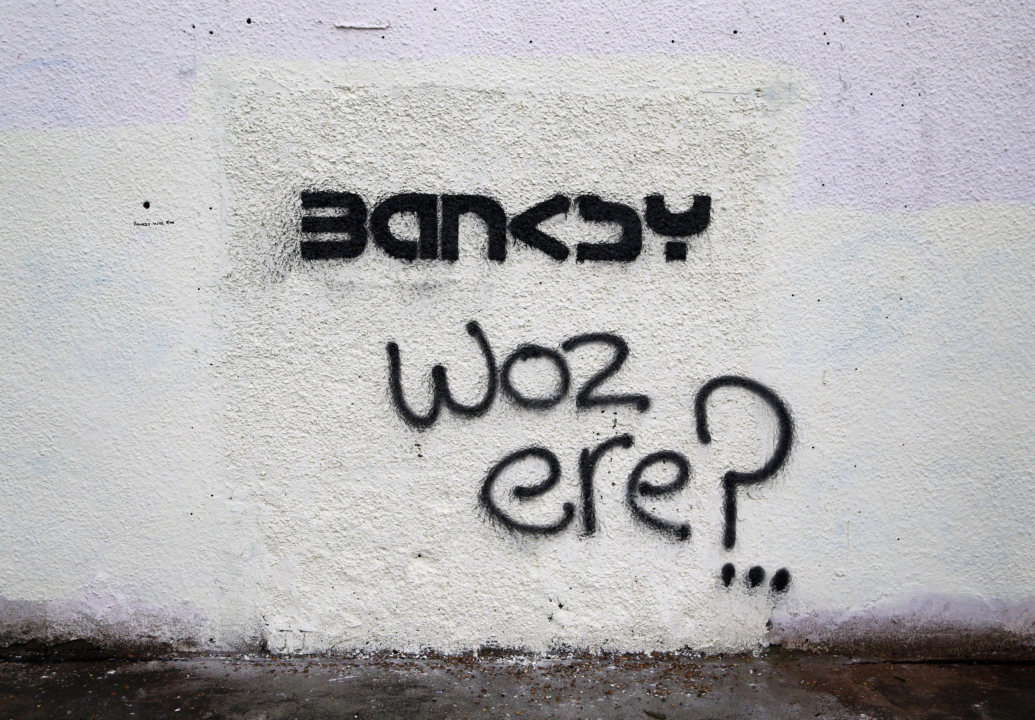Banksy's art, November 10, 2014