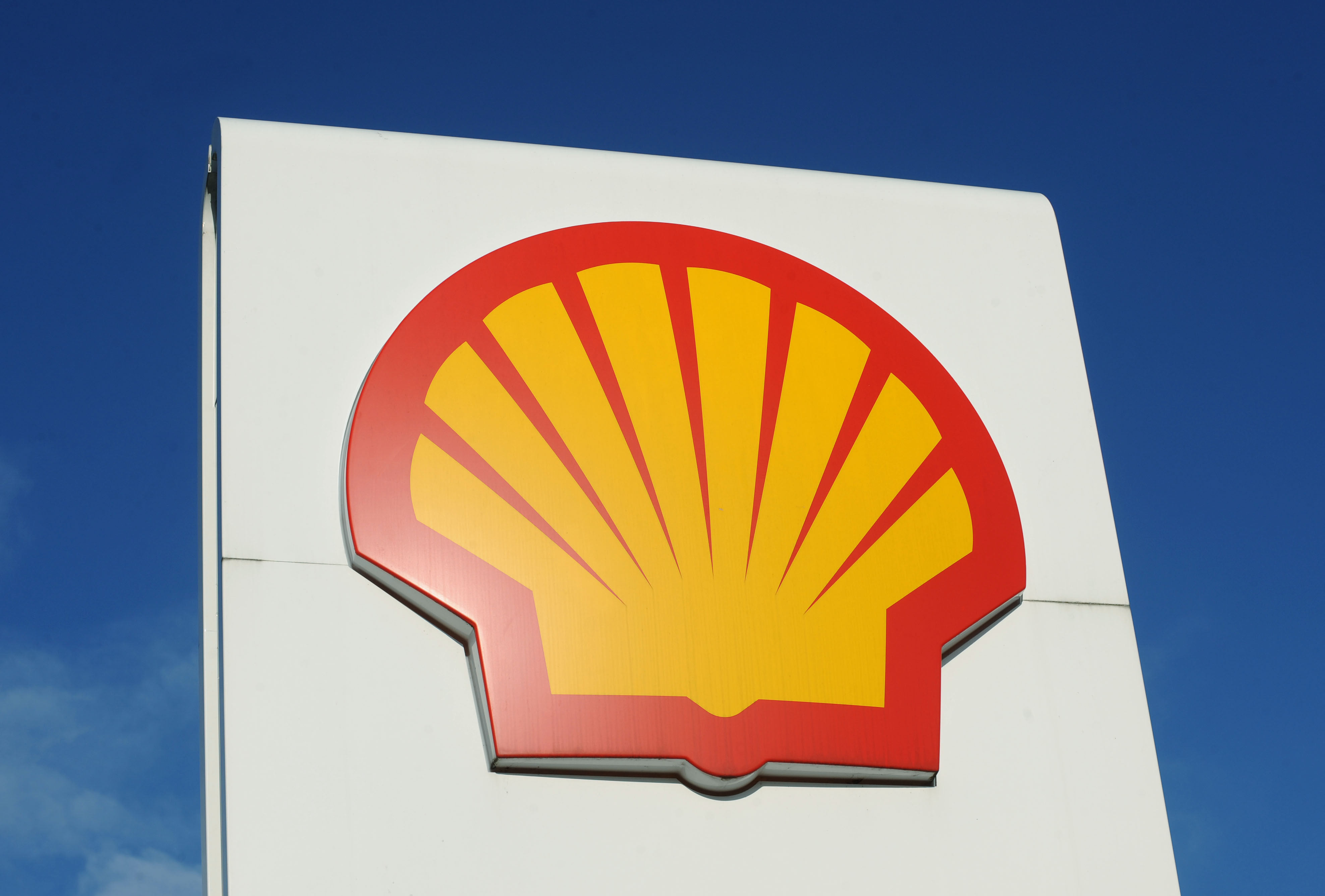 Shell logo.