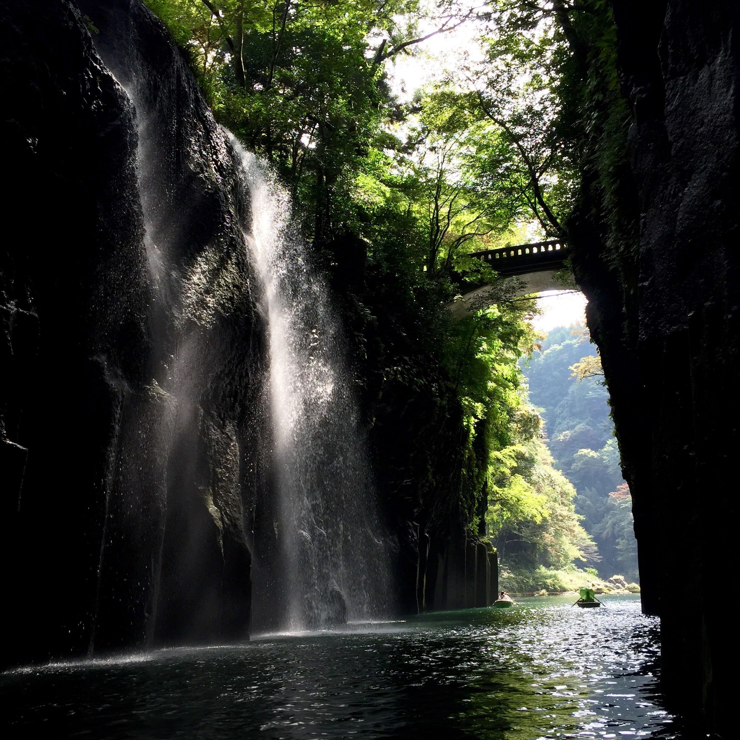Takachiho Gorge in Kyushi, Japan