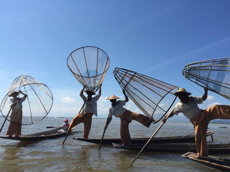 Inle Lake, Shan State of Myanmar