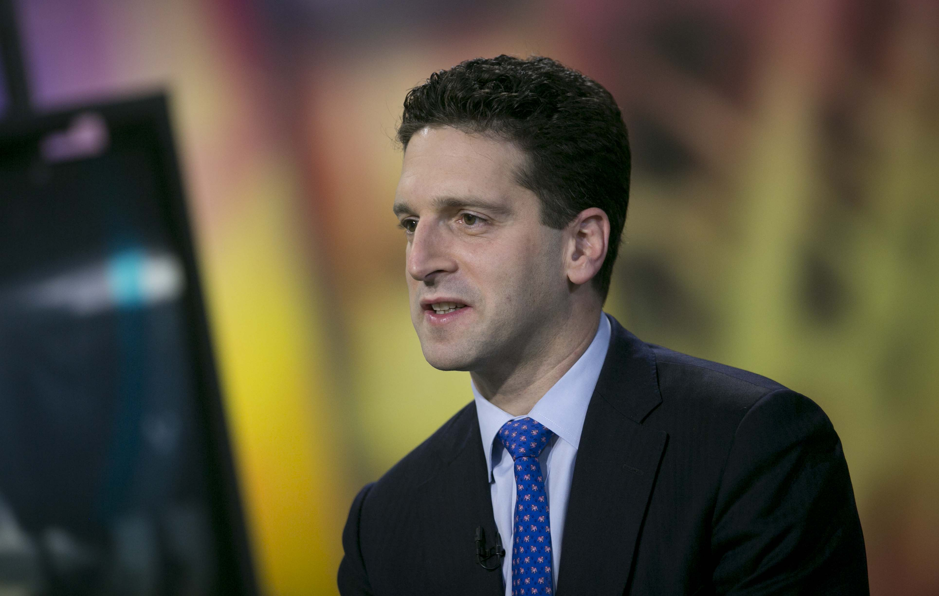 Benjamin Lawsky superintendent of the New York State Department of Financial Services, speaks during a Bloomberg Television interview in New York on Nov. 24, 2014.