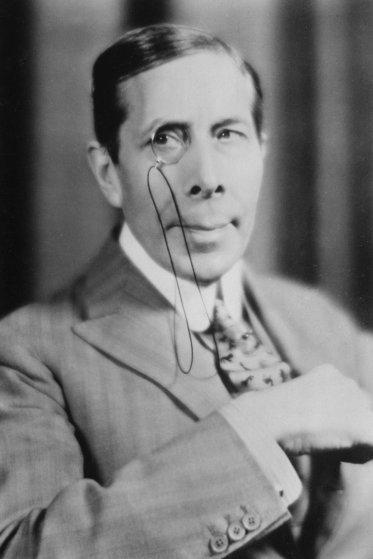 George Arliss (1868-1946), English actor, 20th century.