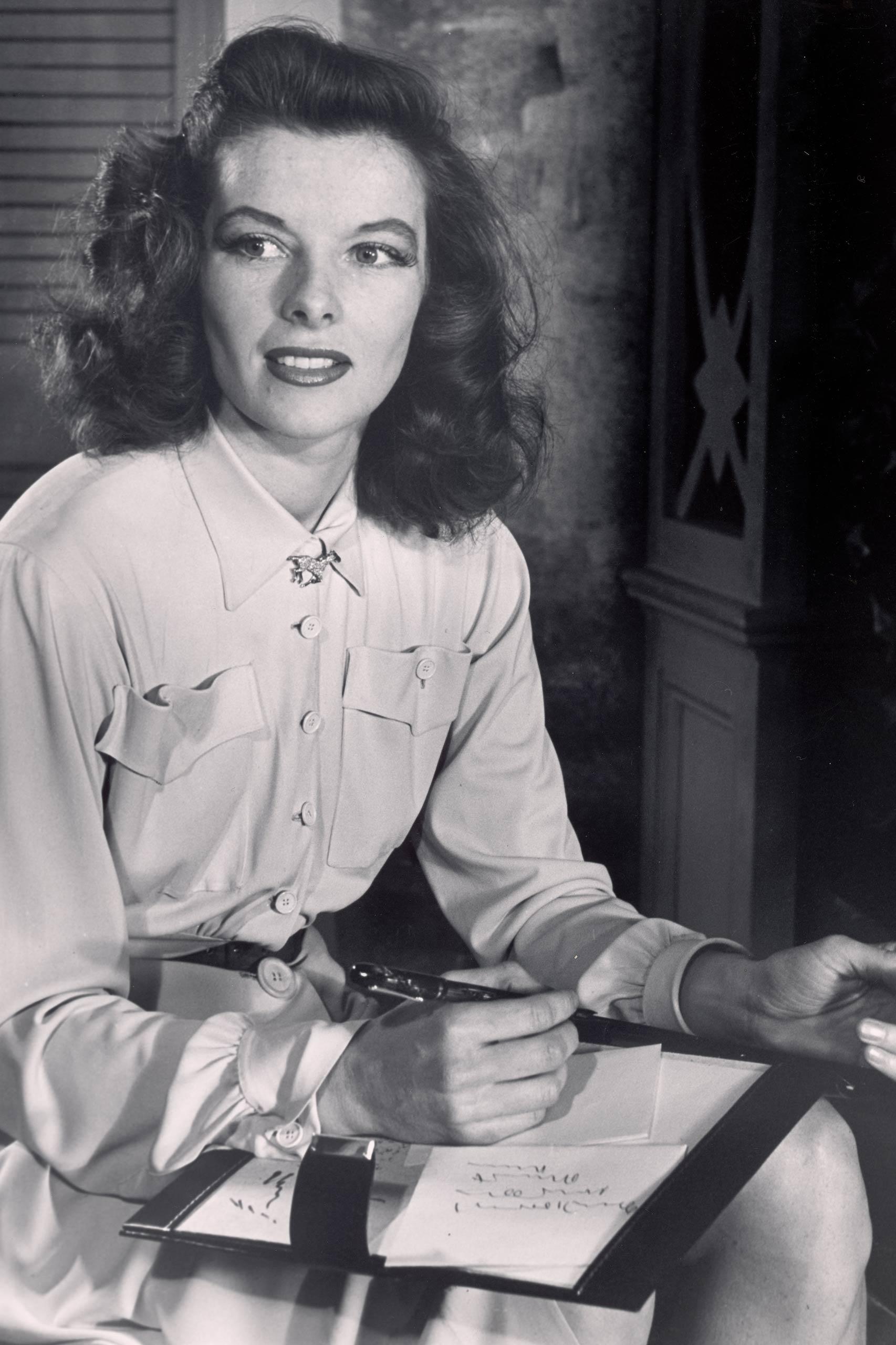 <strong>1934: Katharine Hepburn - <i>Morning Glory</i>                                   1968: Katharine Hepburn - <i>Guess Who's Coming to Dinner</i>                                   1969: Katharine Hepburn - <i>The Lion in Winter</i>                                   1982: Katharine Hepburn - <i>On Golden Pond</i></strong>