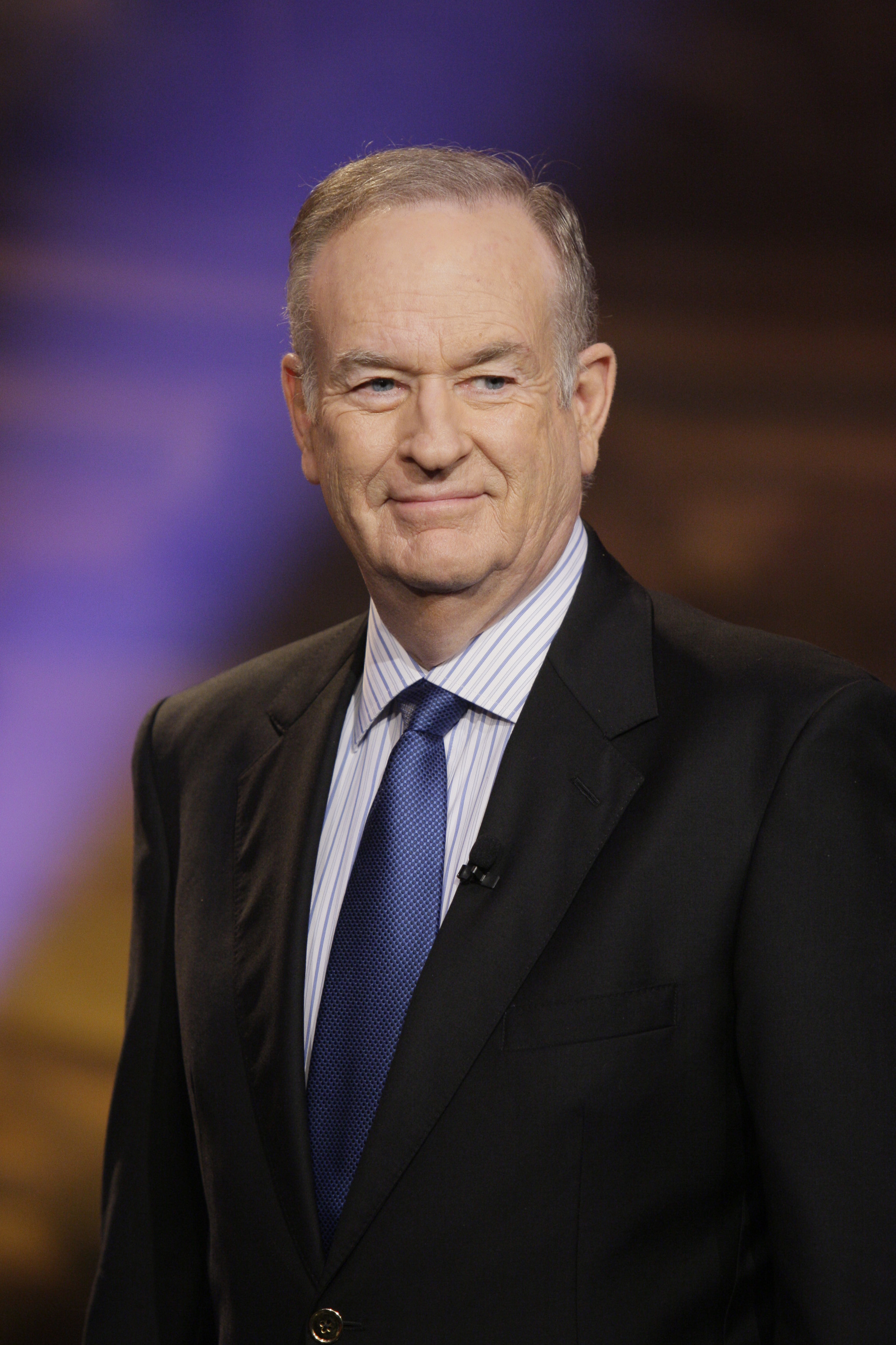 Talk show host Bill O'Reilly on 'The Tonight Show with Jay Leno' on Nov. 18, 2013.