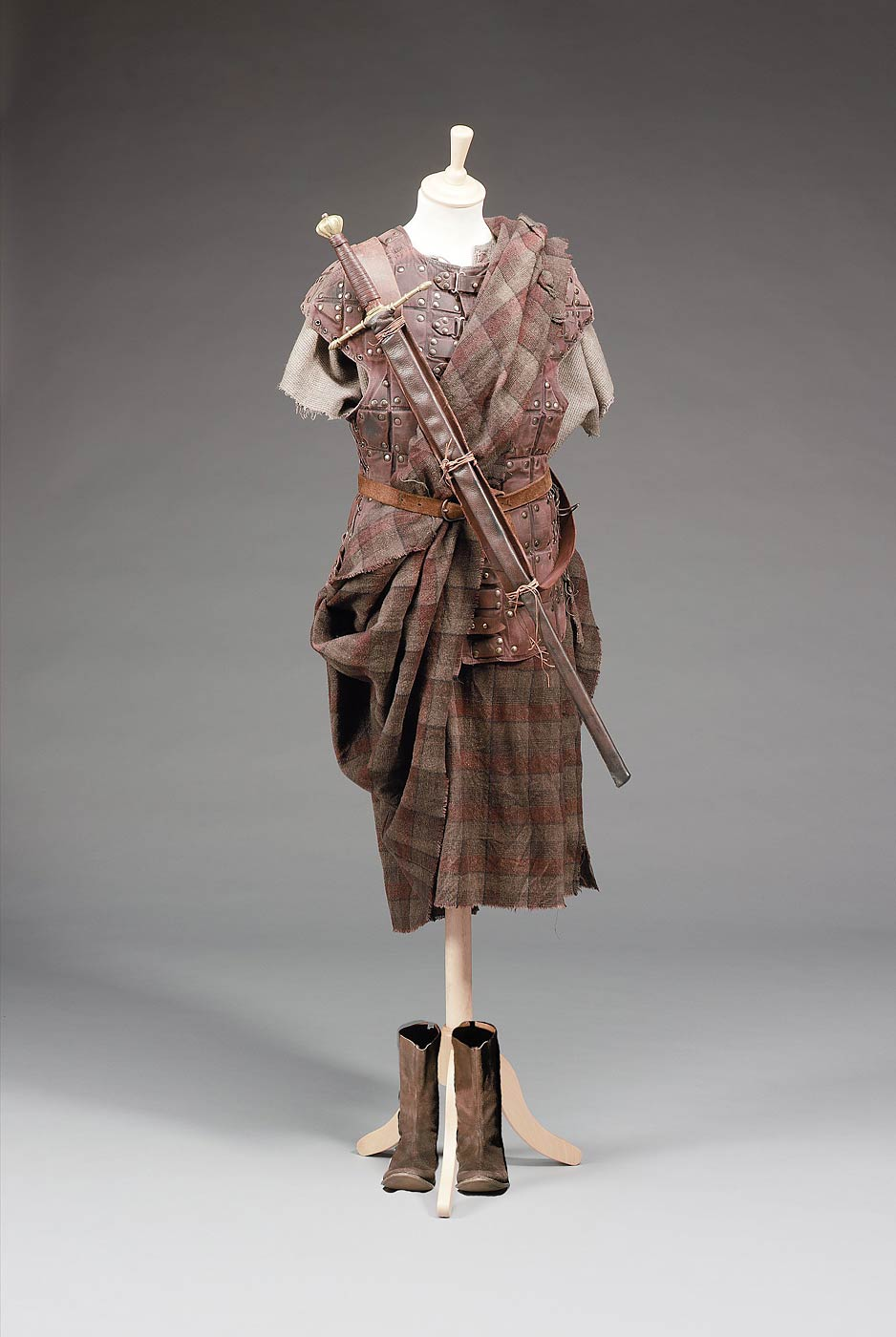 Mel Gibson's William Wallace costume from Braveheart