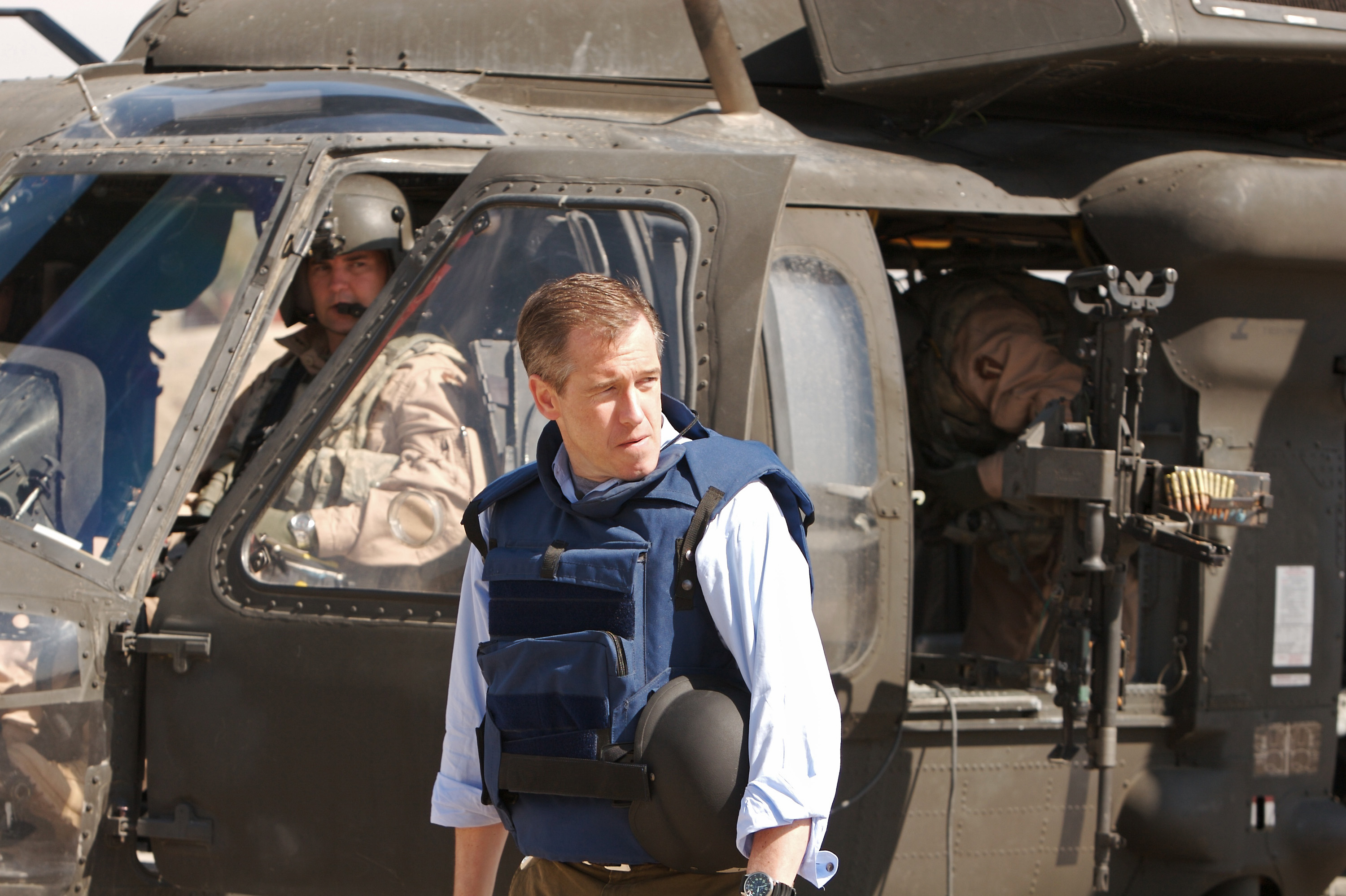 Brian Williams reports from Camp Liberty in Baghdad on March 8, 2007.